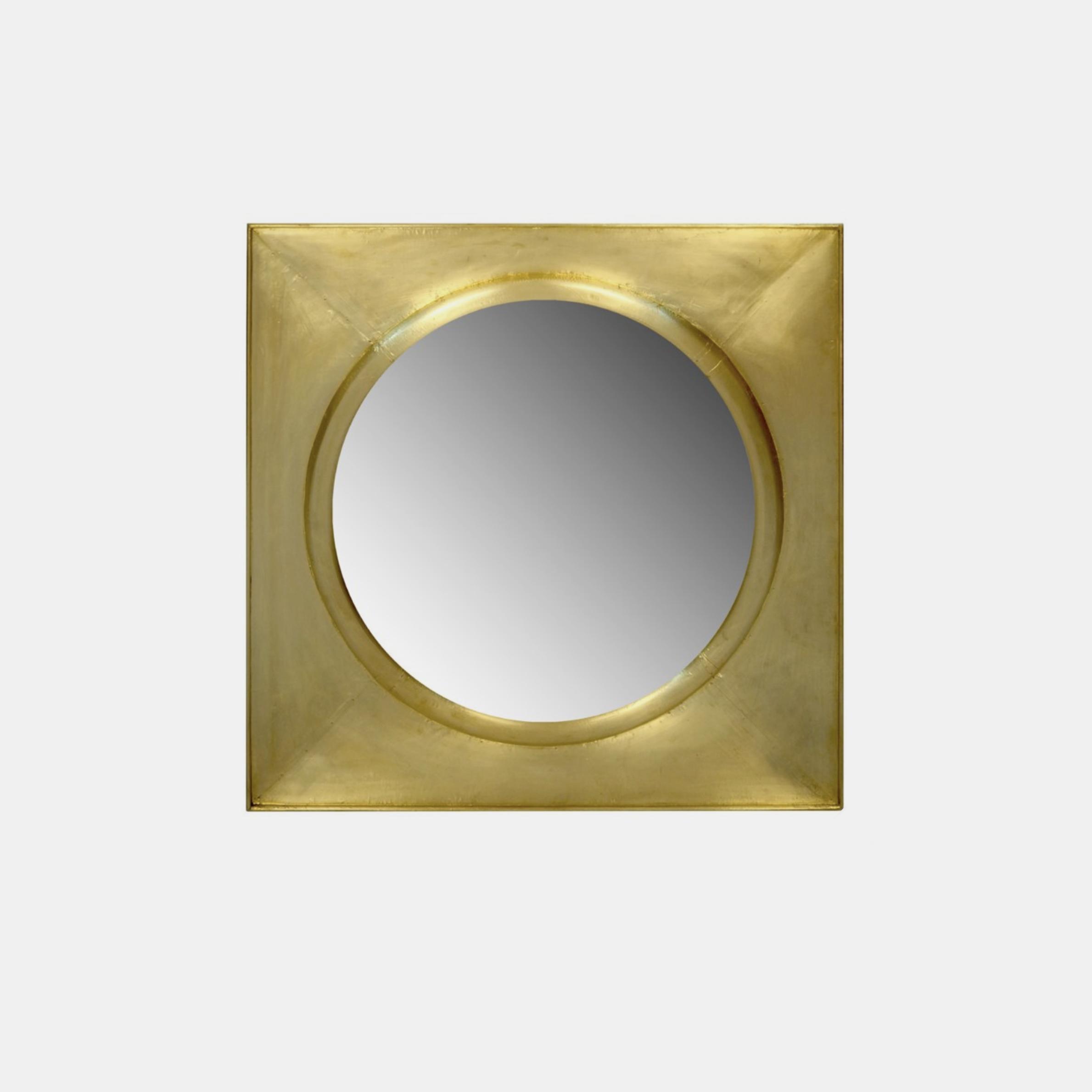 "Justinian Clad Mirror  37"" square SKU1259SLM"