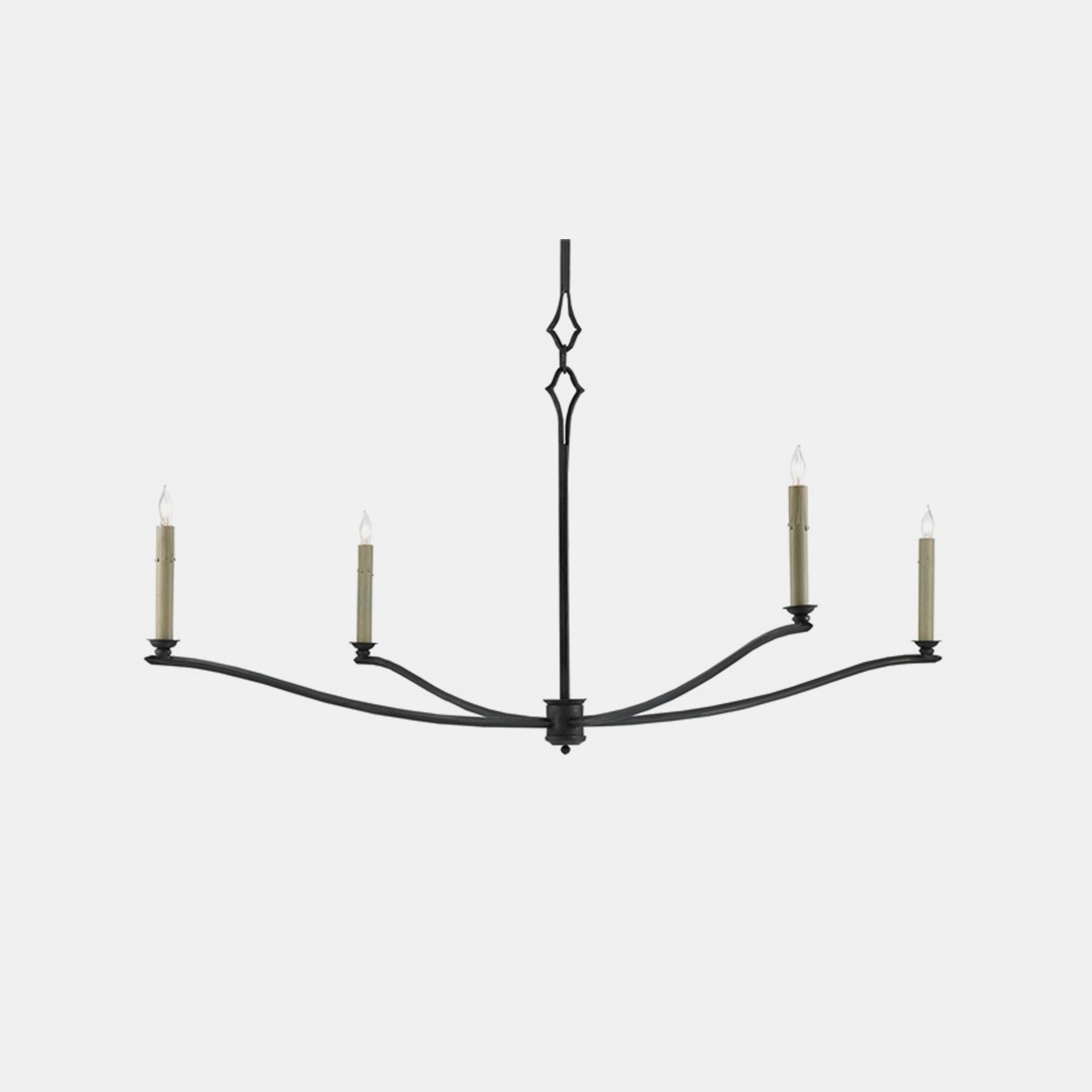 "Knole Chandelier  49""round x 20.75""h SKU0098CUY"