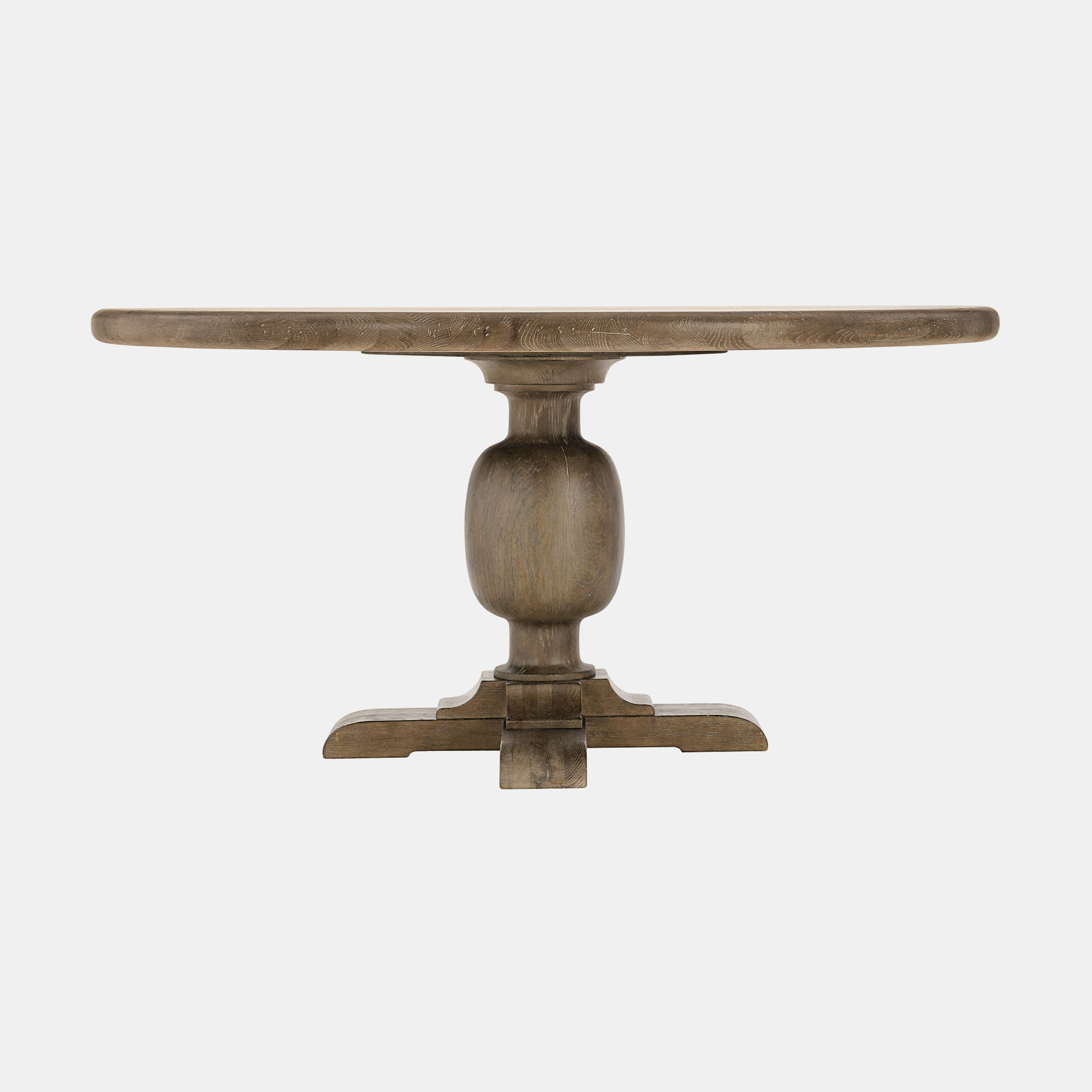 """Rustic Patina Dining Table  60"""" round x 30"""" h Available in peppercorn (shown) or sand. SKU5390BHT"""