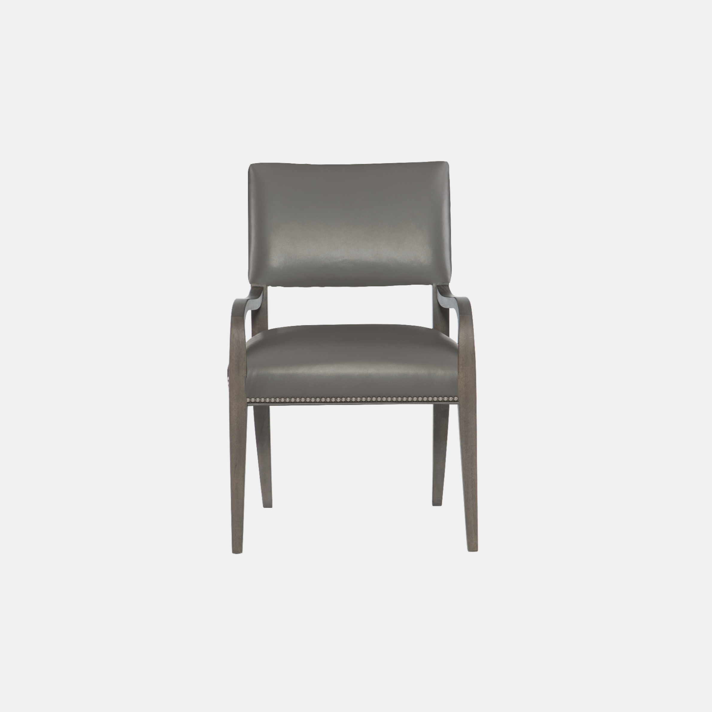 "Moore Leather Arm Chair  23-7/8""w x 24-5/8""d x 35-3/4""h Available in fabric, leather, or COM. Also available as side chair, counter stool, or bar stool. SKU3108BHT"