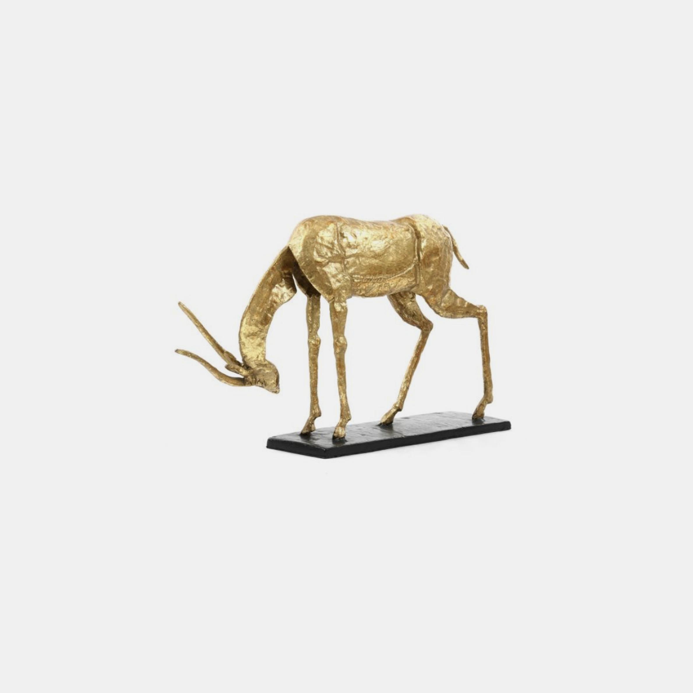 "Antelope Statue  15.5""w x 5""d x 9.5""h SKU48293BGW"