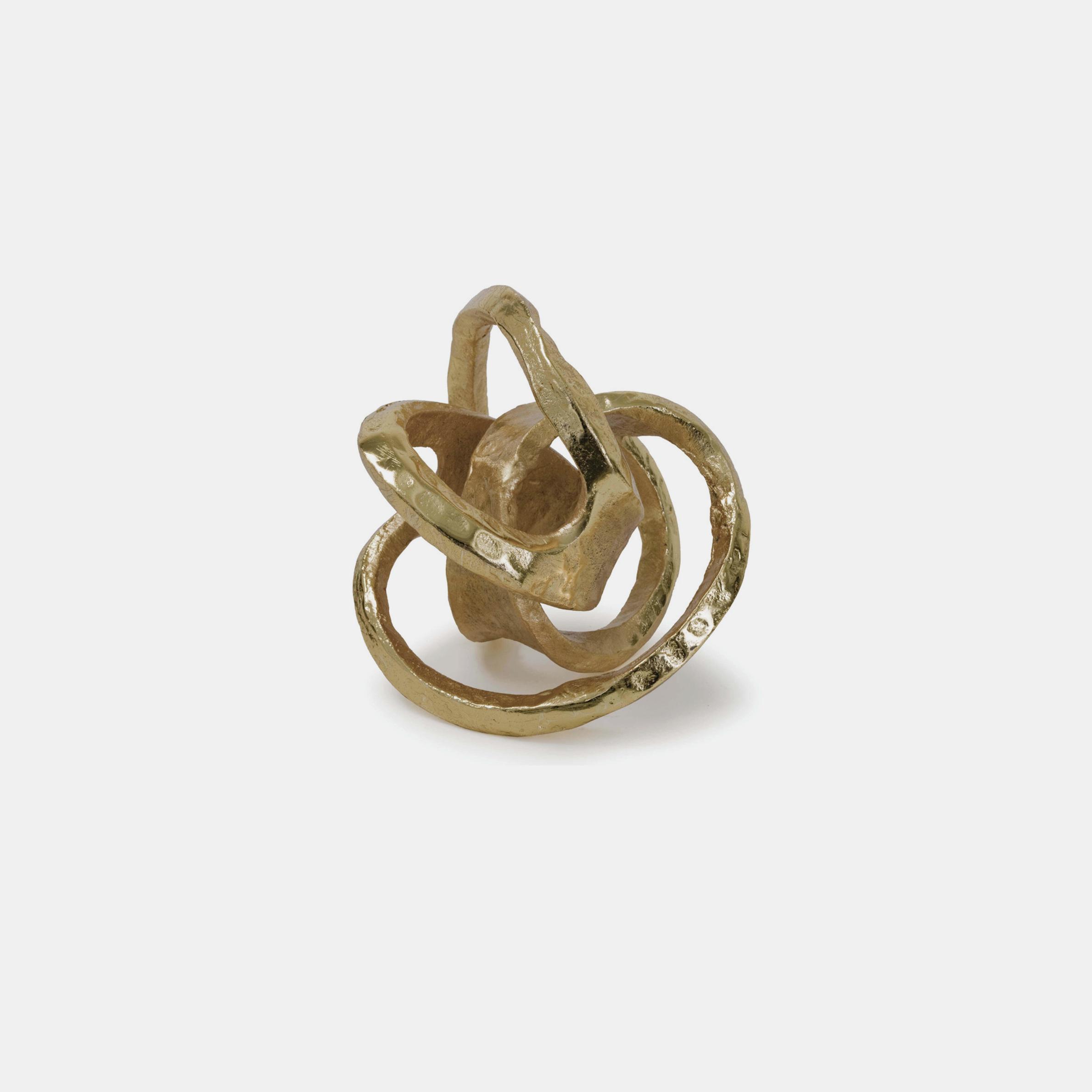 "Metal Knot  7"" SKU3958RAD"