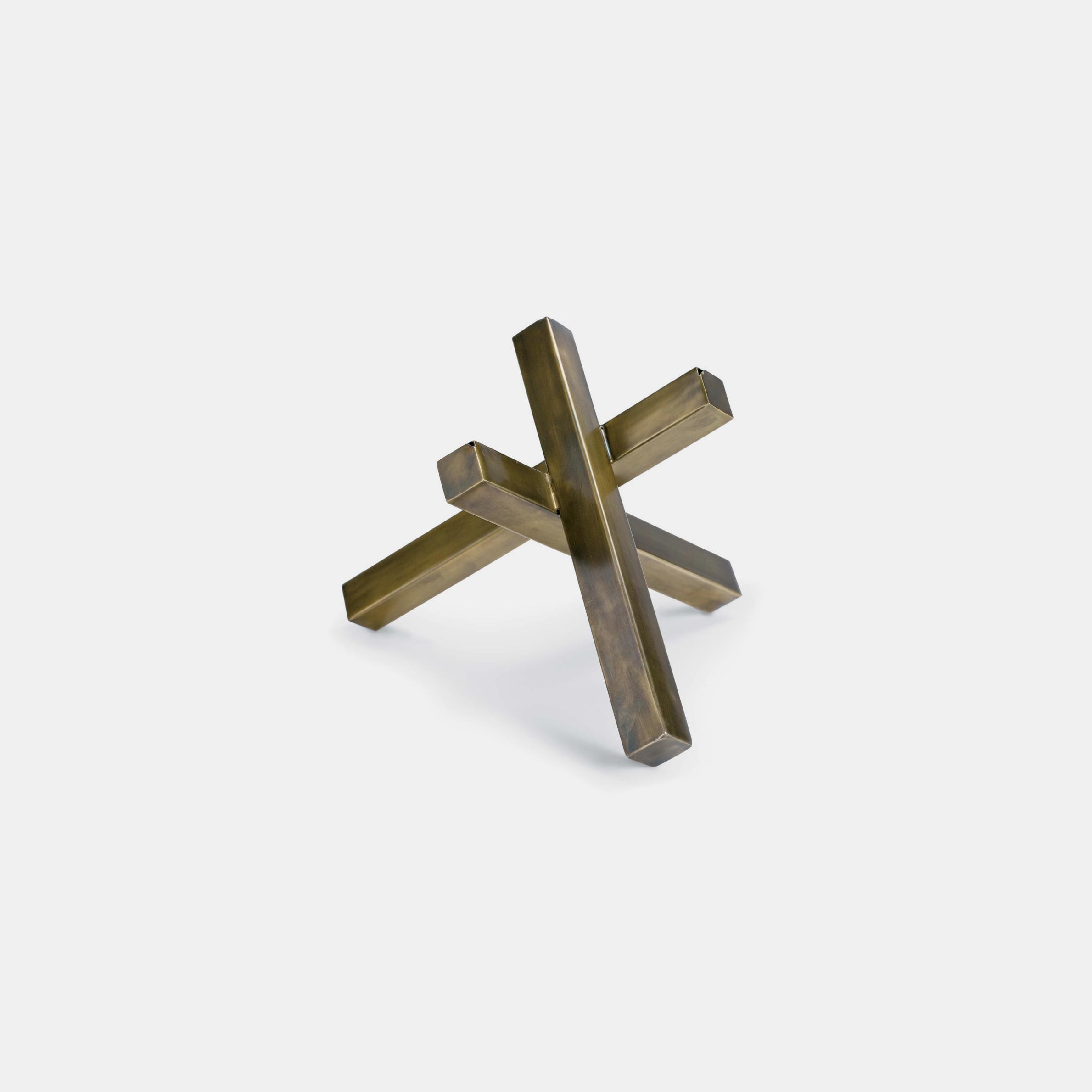 """Intersecting Sculpture  9.5""""h x 11""""d x 12""""w SKU4892RAD"""