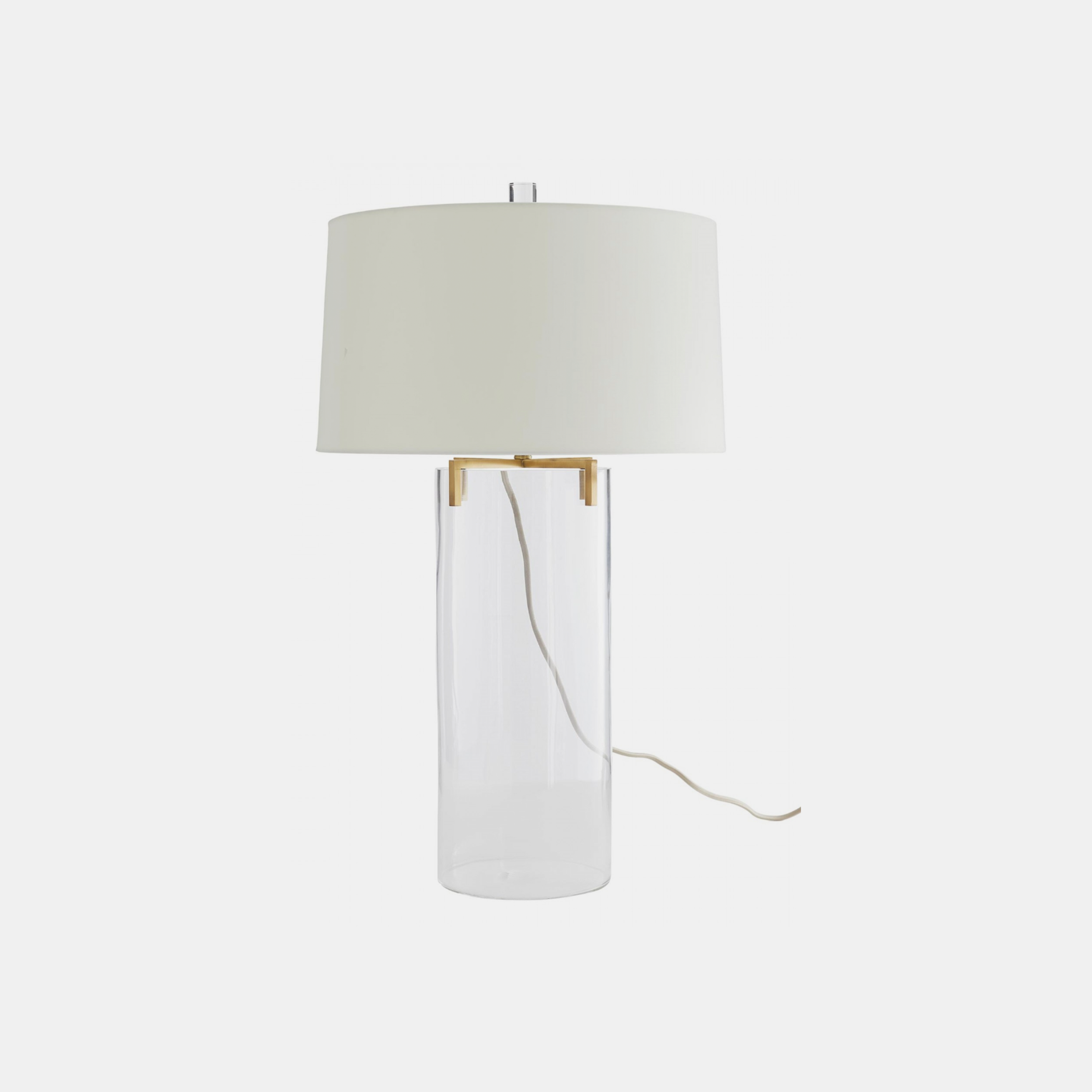 "Dale Lamp  18"" round x 30""h SKU23894ART"