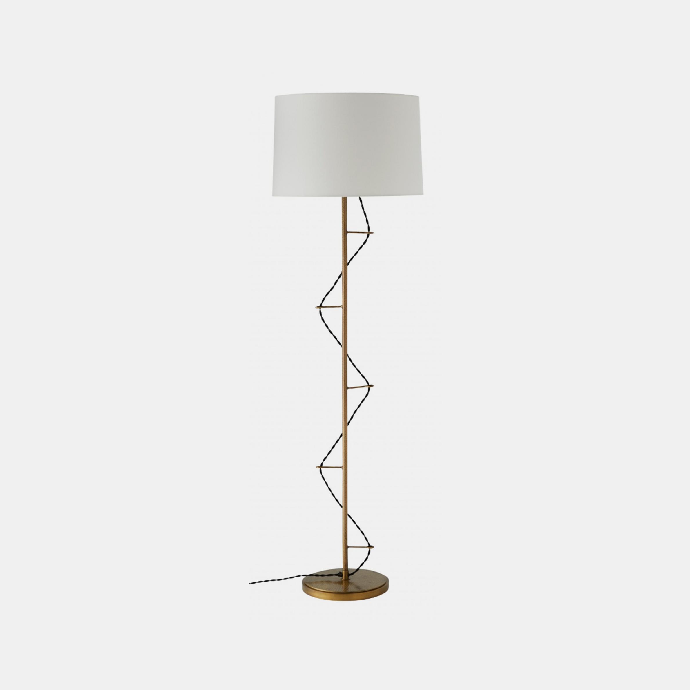 "Stelvio Floor Lamp  20"" round x 67""h SKU3894ART"