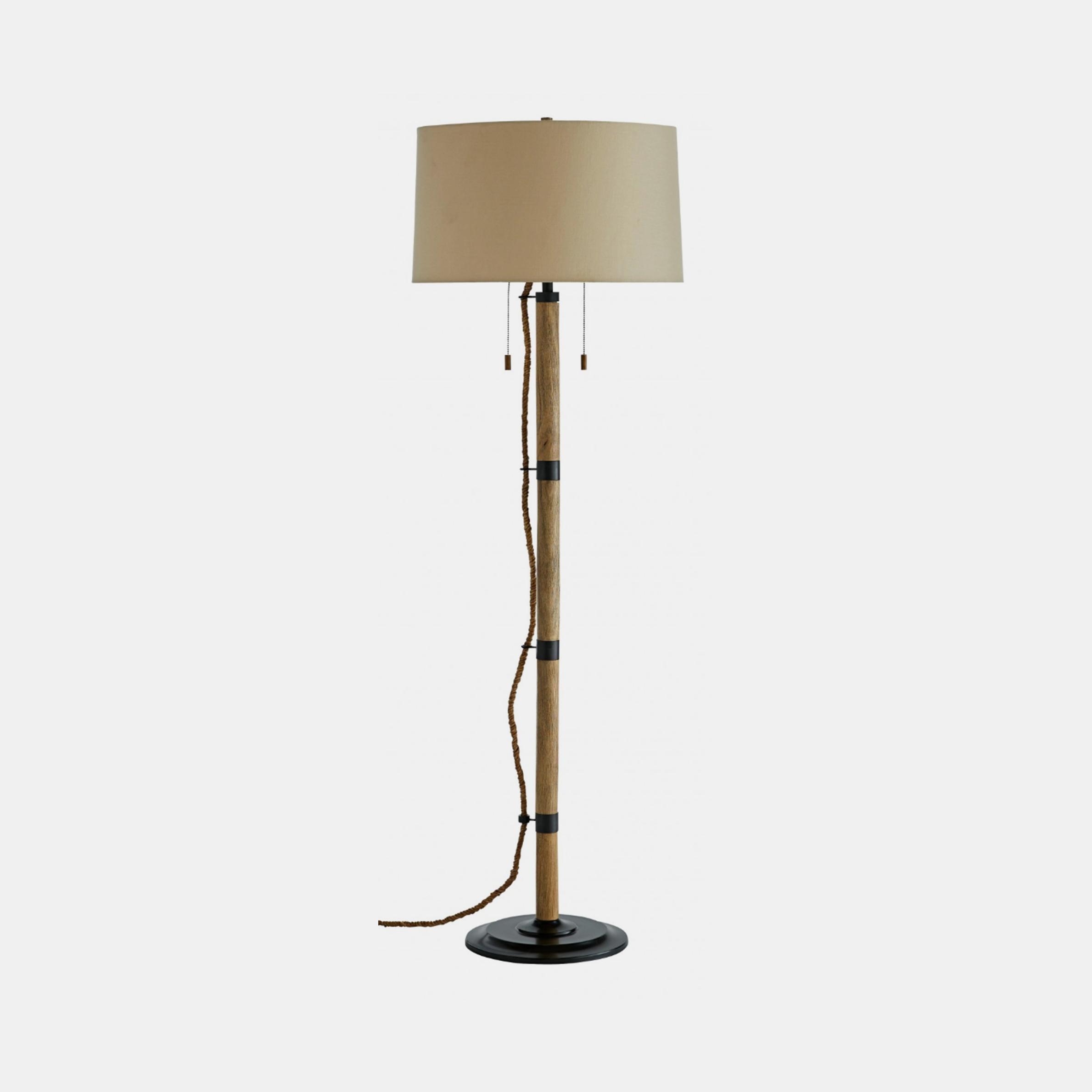 "Vik Floor Lamp  21"" round x 65.6""h SKU52998ART"