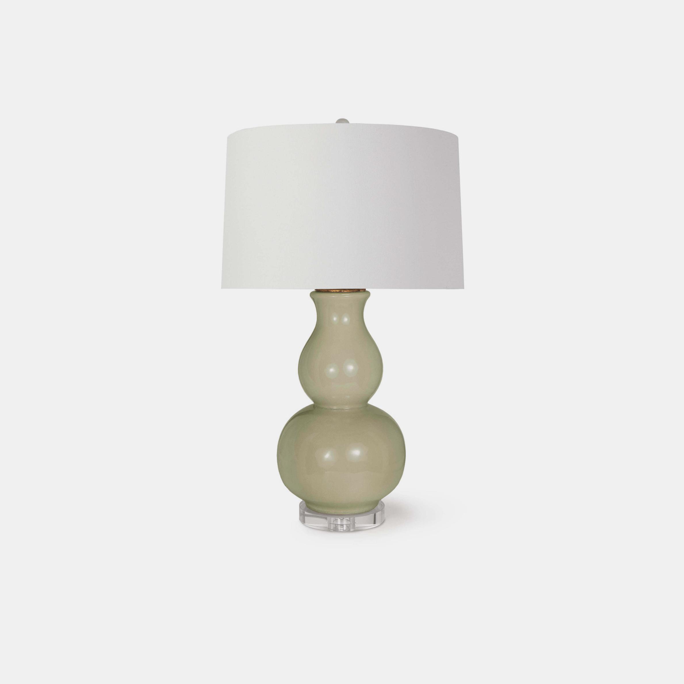 """Blair Ceramic Table Lamp  18"""" round x 30""""h SKU3991RAD"""