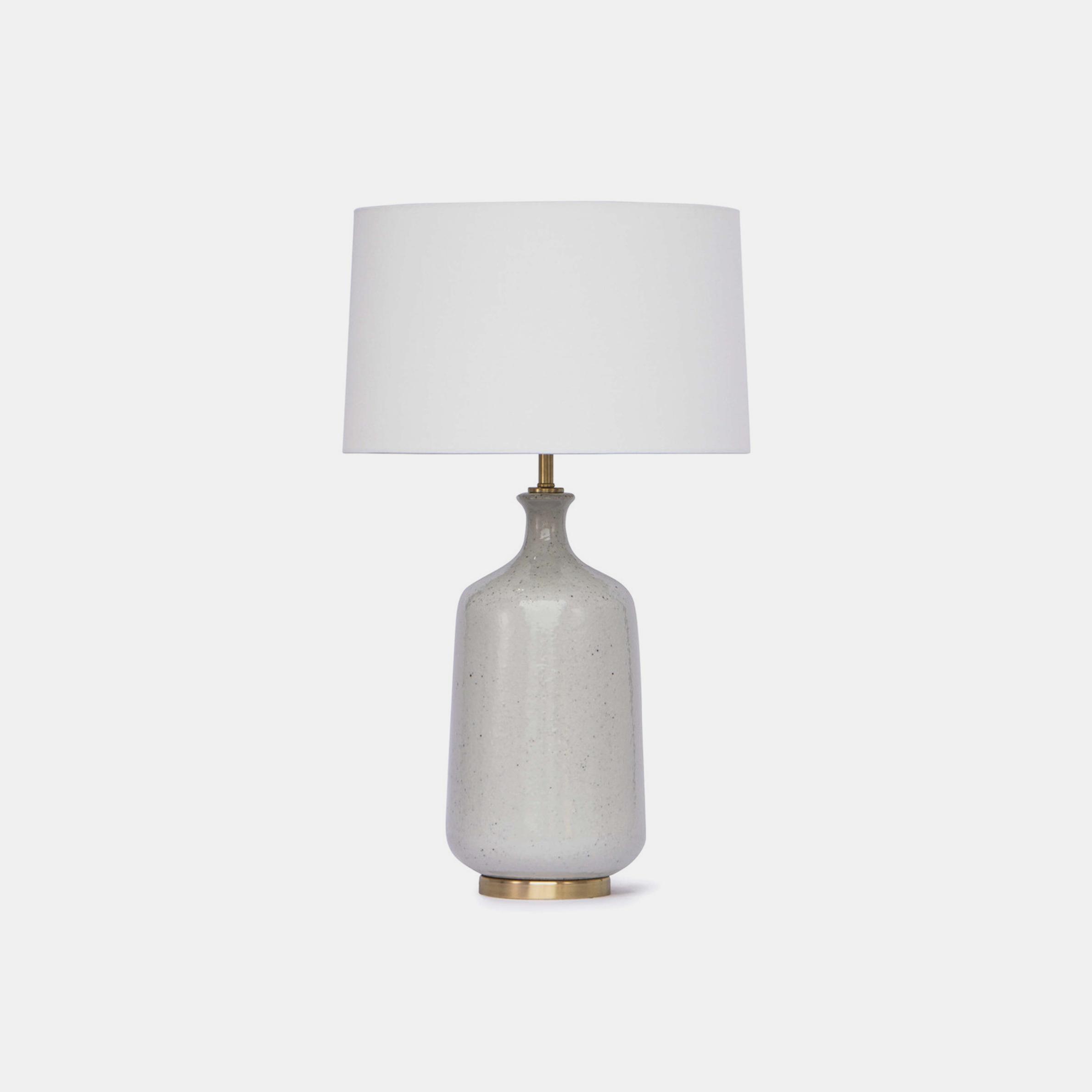 "Glace Ceramic Table Lamp  17"" round x 29""h SKU329RAD"
