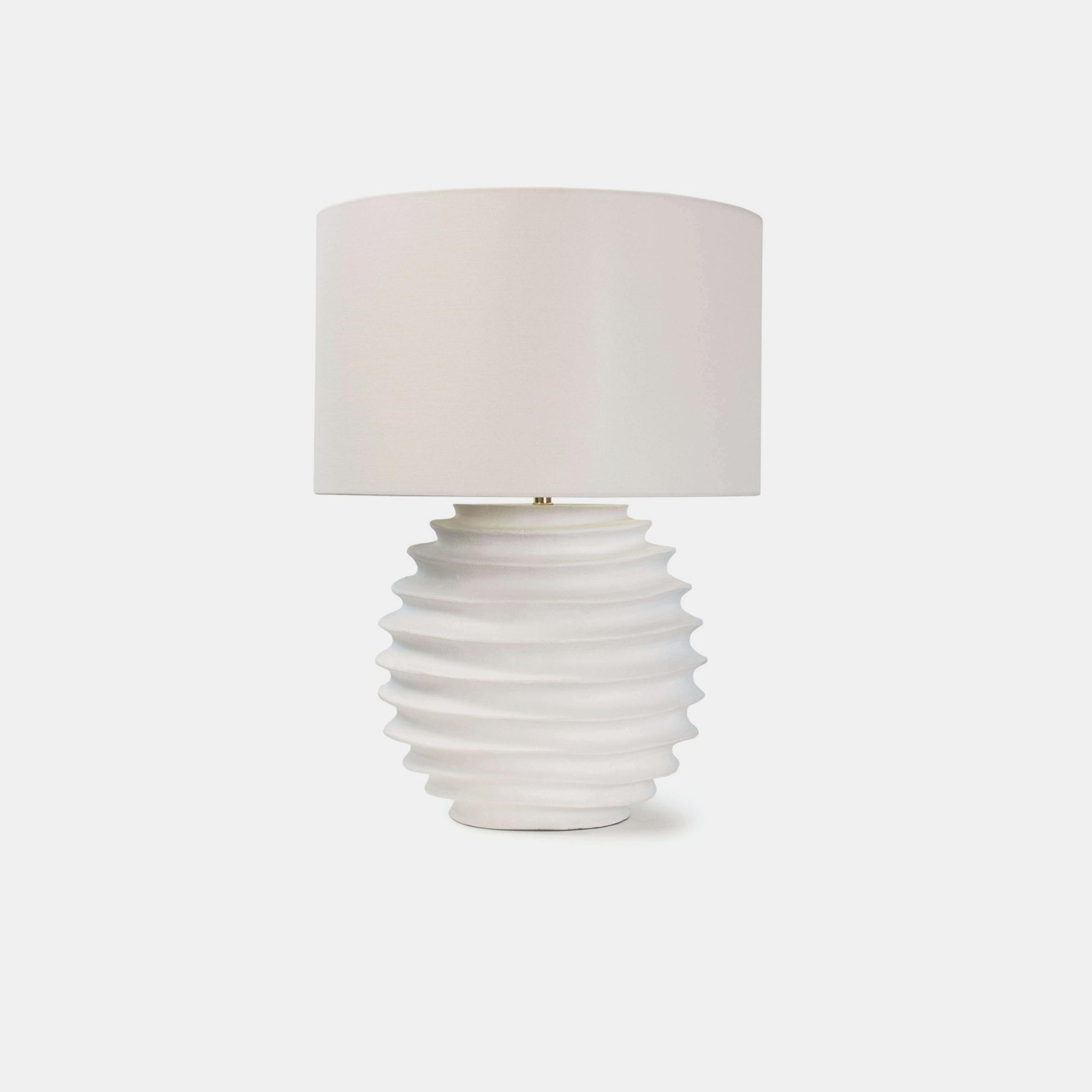 "Nabu Metal Table Lamp  18"" round x 24.5""h SKU49222RAD"