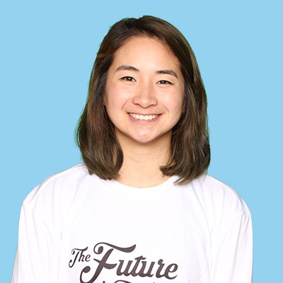 Stephanie Wang   Steph started playing ultimate in high school in Baton Rouge, LA. Through those high school years, being one of three women on the team (other 2 were her best friends), she experienced and loved the culture and friendships ultimate has to offer which led her to continue playing in college at Washington University in St. Louis (WUWU). On WUWU, she was recognized with All-Freshman honors in the region, became captain her senior year, and cried when her team surprised nominated her for 2018 Callahan. Her club experience includes playing on the women's club team Queen Cake (2016) and mixed team Thoroughbred (2017, 2018). Steph lives in St. Louis, MO as a designer with her food-stealing cat, Alfie. When she not on the field, Steph is crafting/diy-ing, disc golfing, and looking for the best food spots.