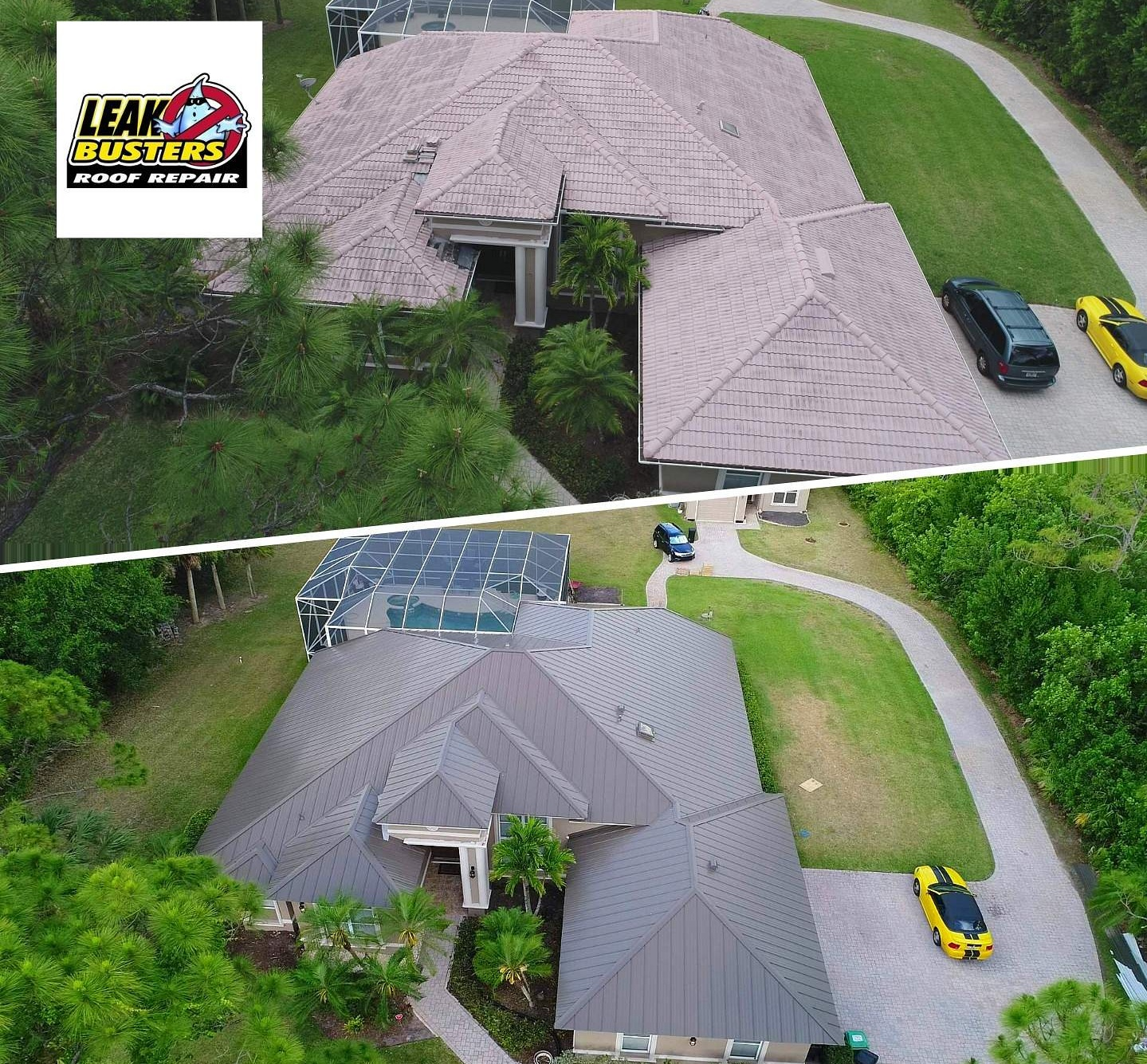 Reviews - Check out our reviews. We bring superior quality to every roof we're contracted for. This is what you can expect from a Leak Busters roof.