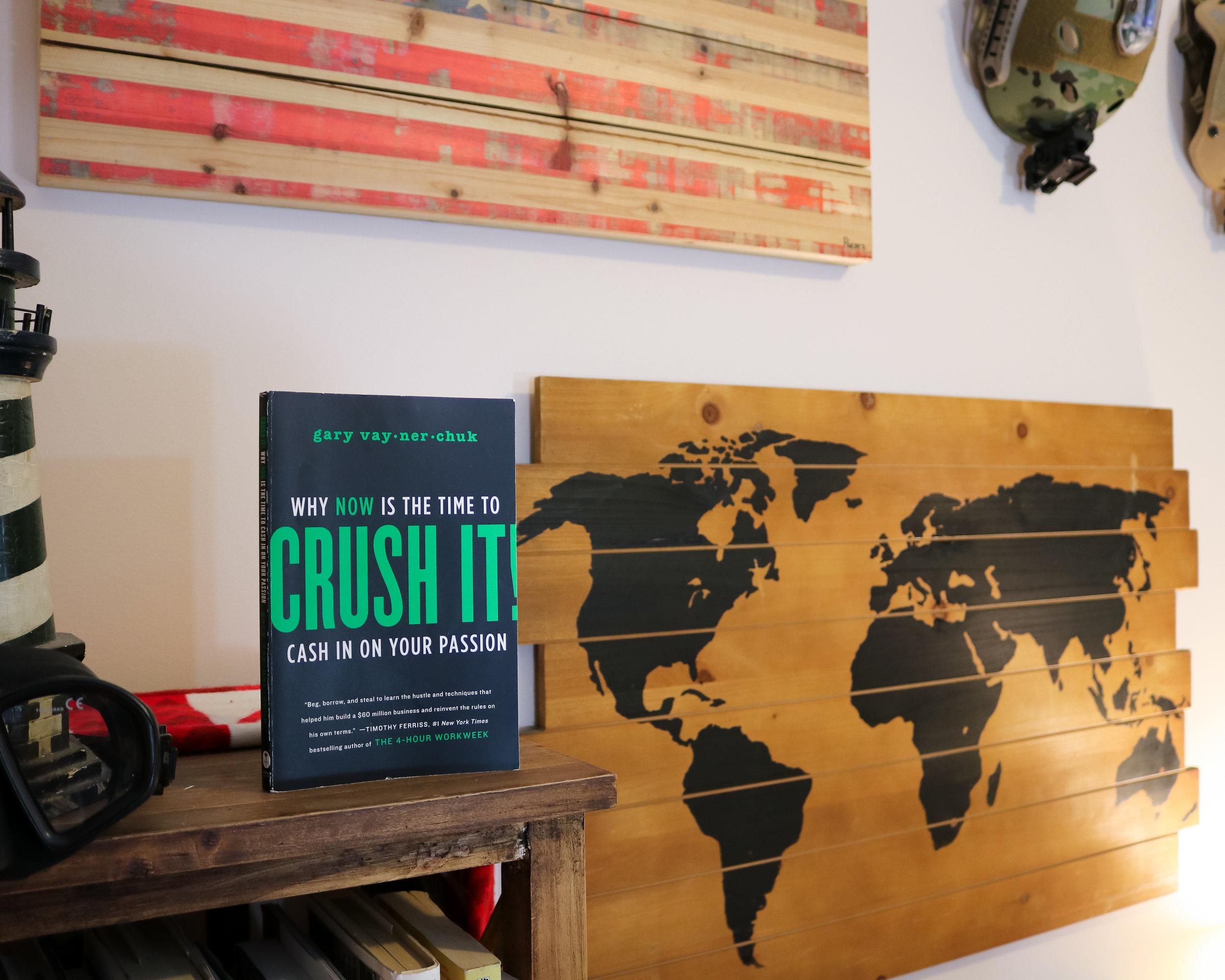 "#3 ""Crush it!"" by Gary Vaynerchuk"