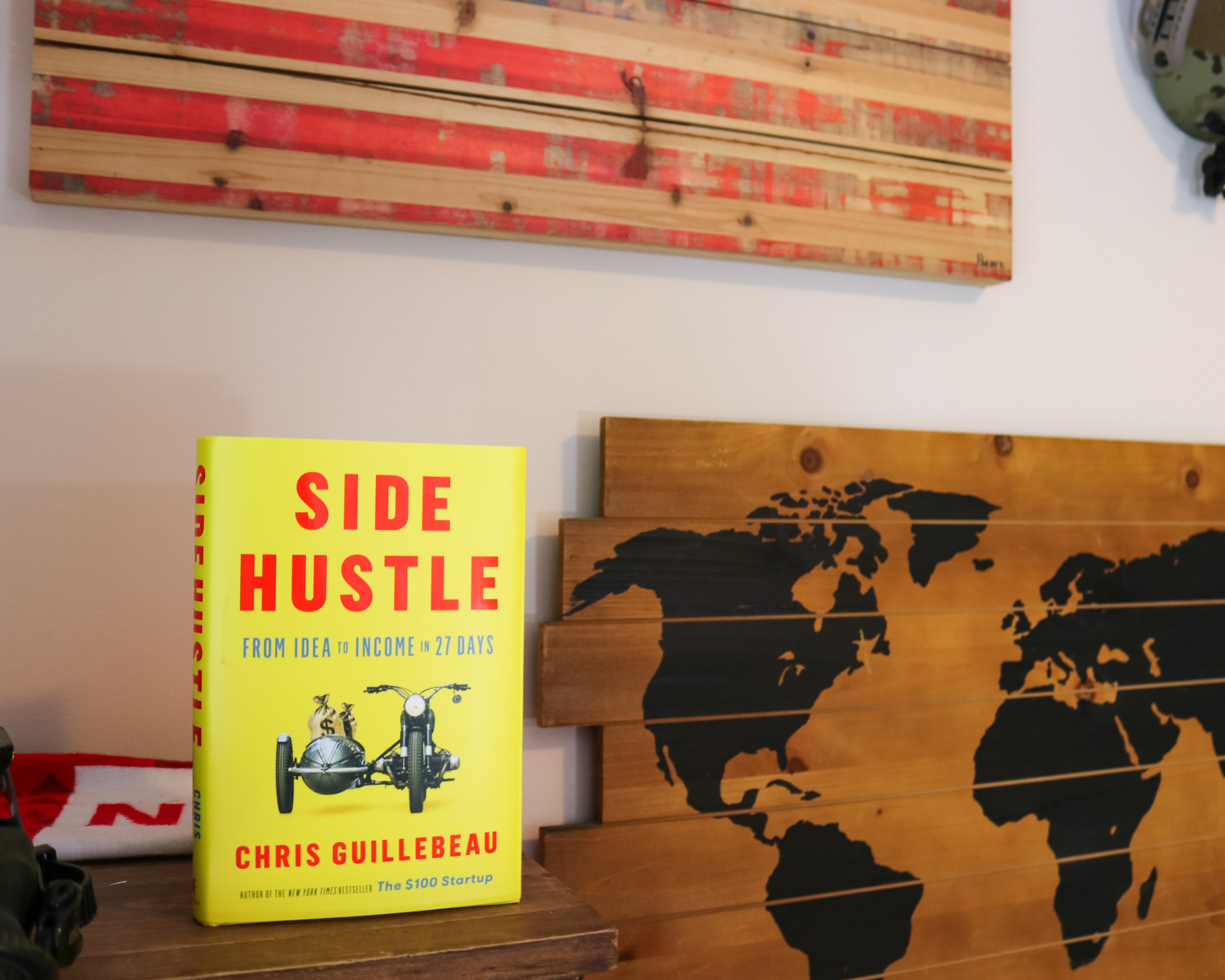 """#10 """"Side Hustle"""" by Chris Guillebeaue"""