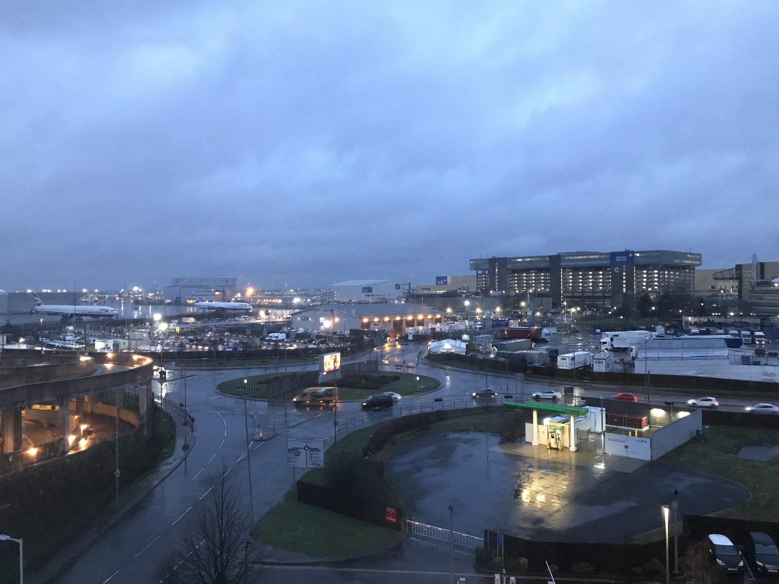 HGI London Heathrow room view