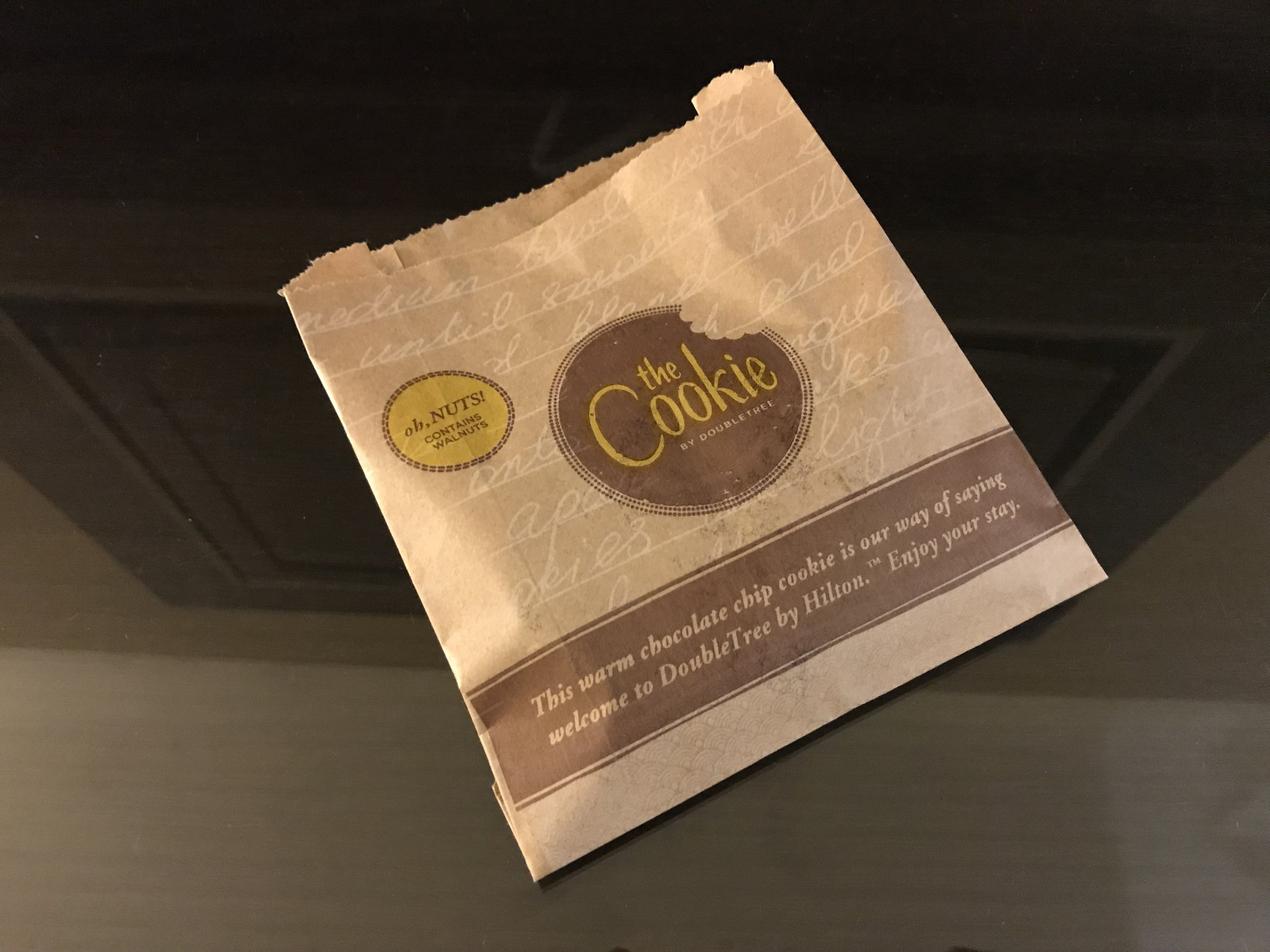 DoubleTree by Hilton Woking free cookie