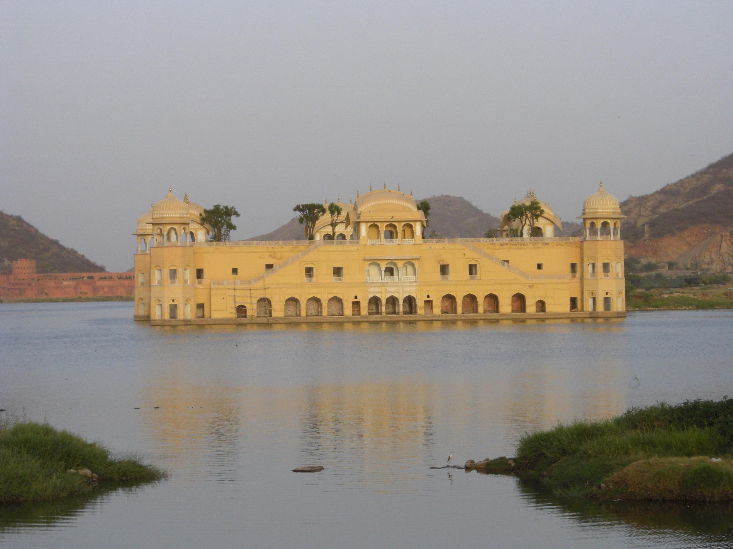 The Jal Mahal, Jaipur, India