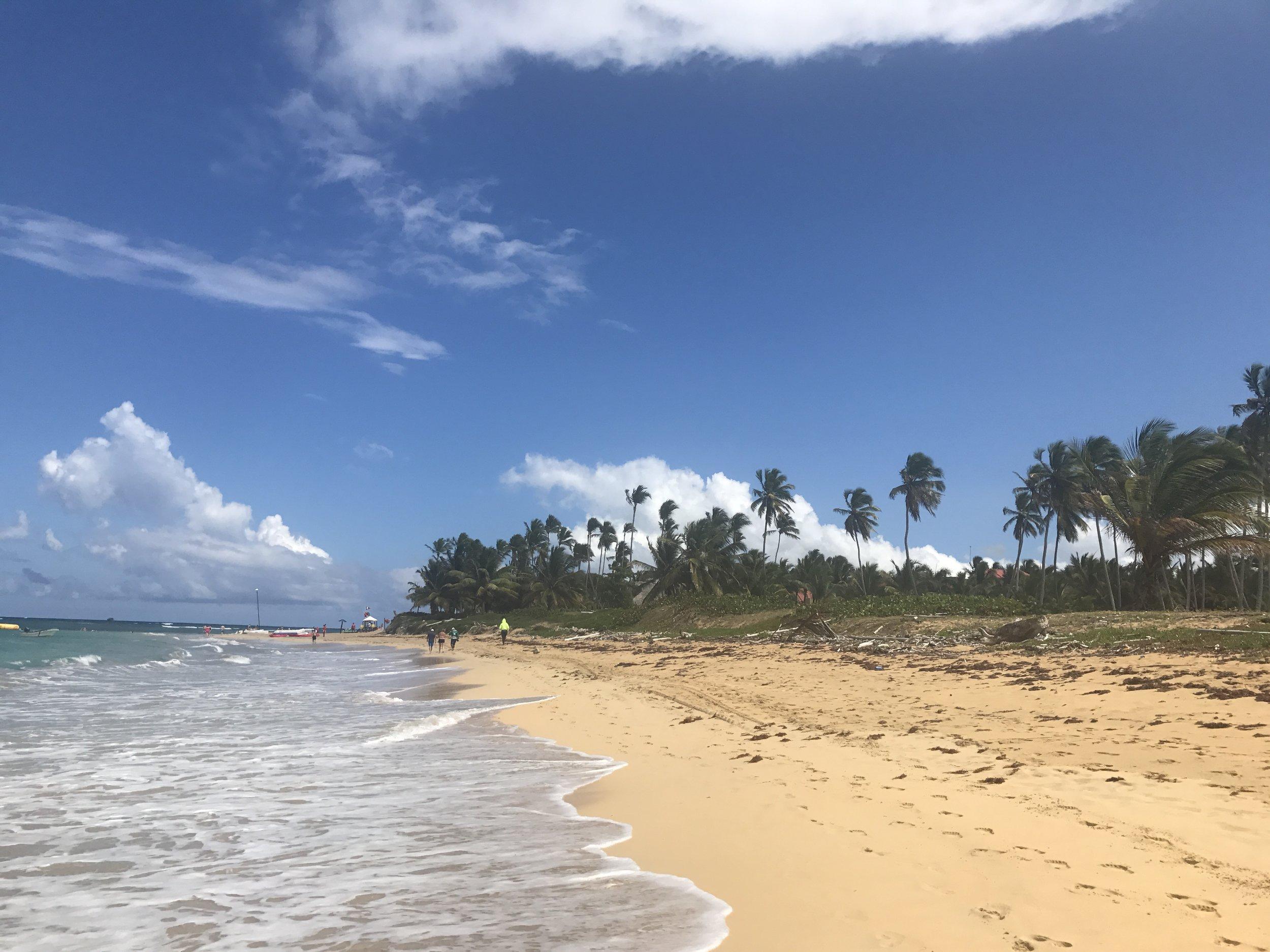 Breathless' long golden beach