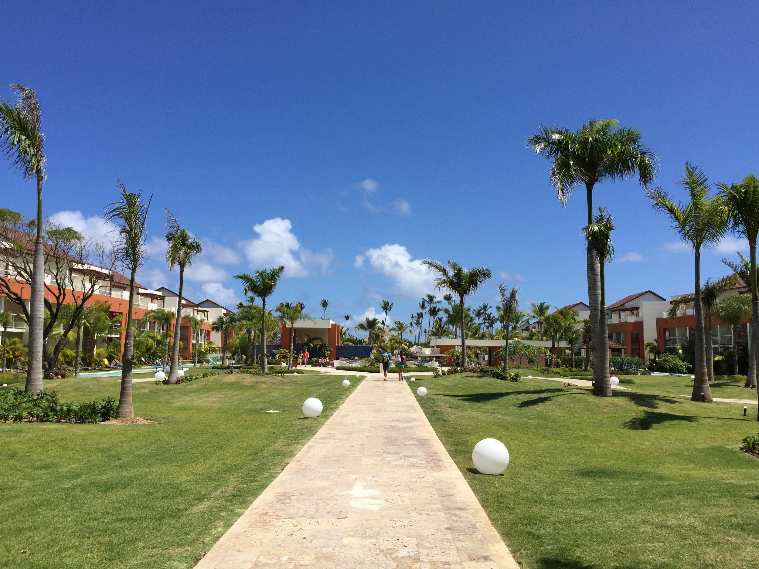 Breathless Punta Cana gardens