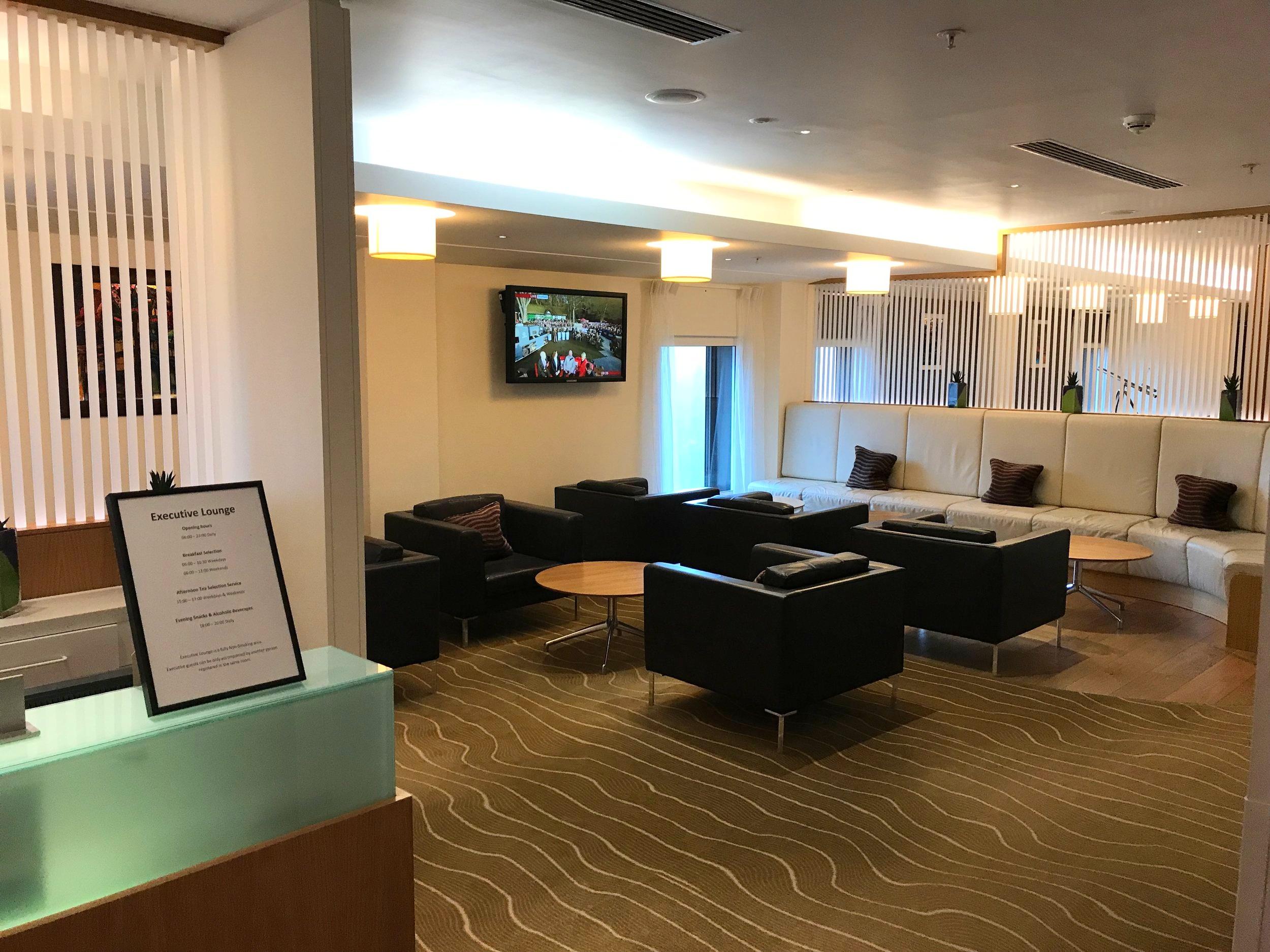 Hilton Heathrow Terminal 5 Executive Lounge