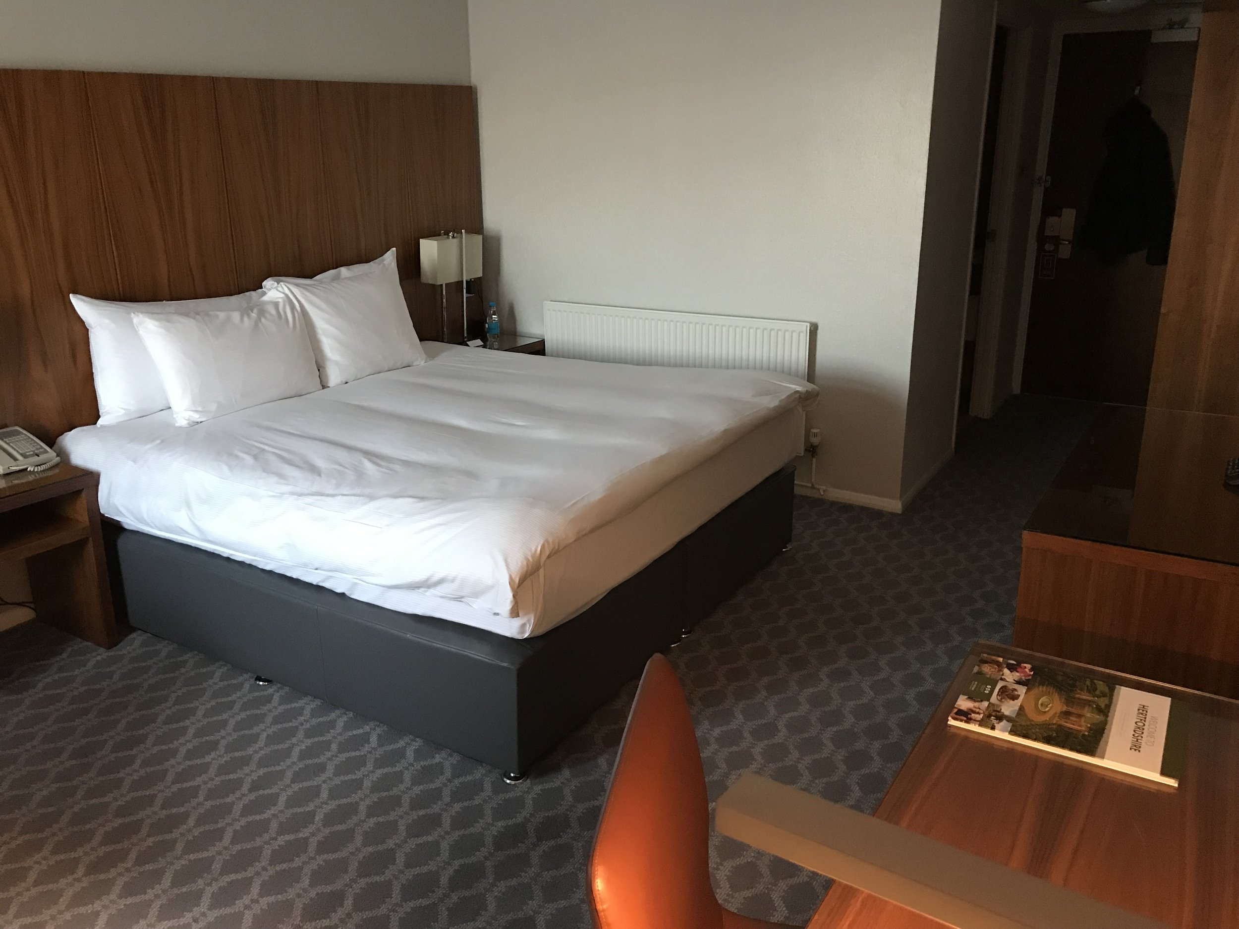 Hilton Watford King Guest room