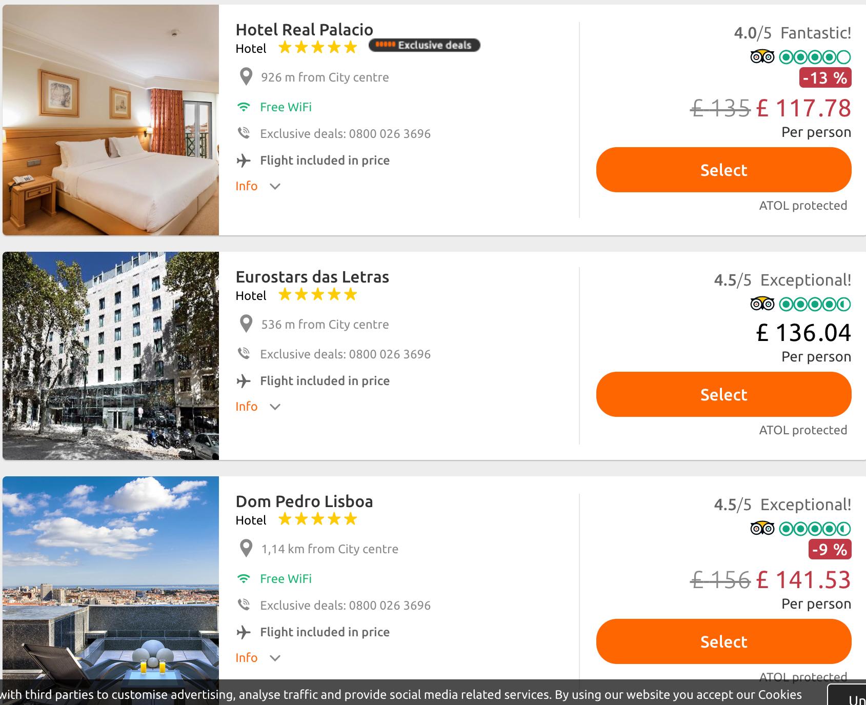 Bargain of the week Lisbon Portugal.png