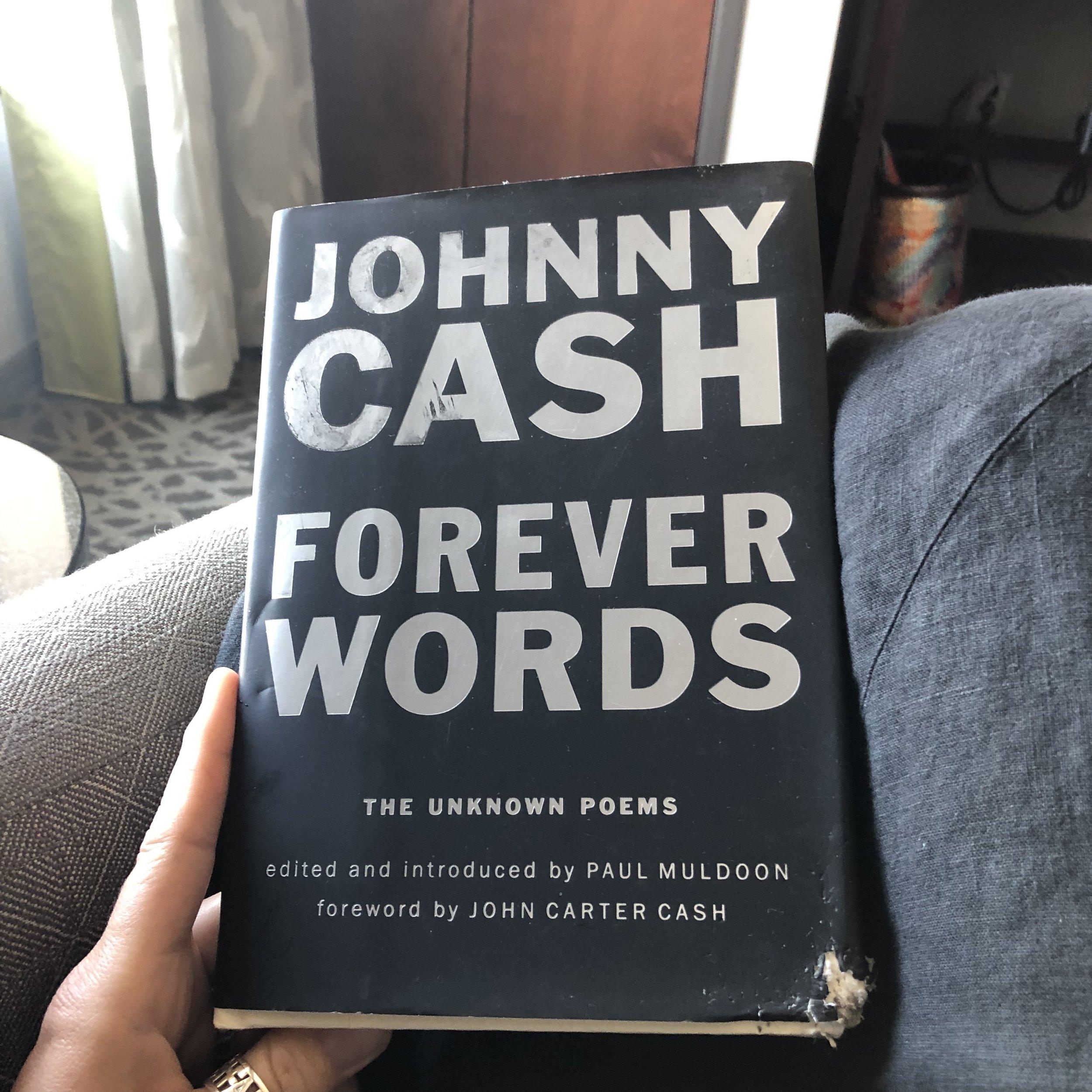 JohnnyCashForeverWords.JPG