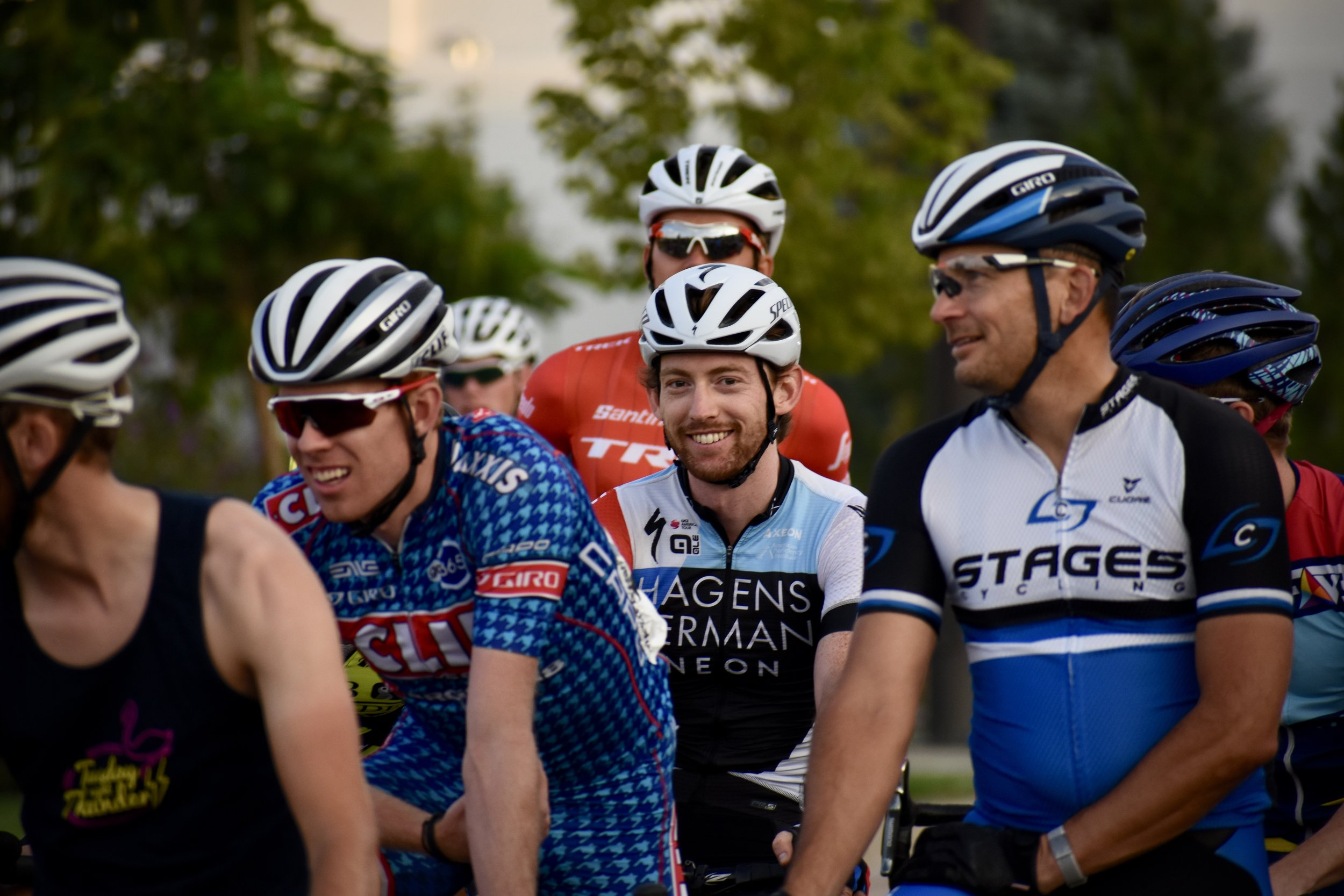 Be Part of Something Big - Sports are as much about community as they are about personal goals and fitness. With our help, you can train up for bunch rides, charity races, and other events in your spare time, so you can spend more time outside doing the things you love with the people you care about.
