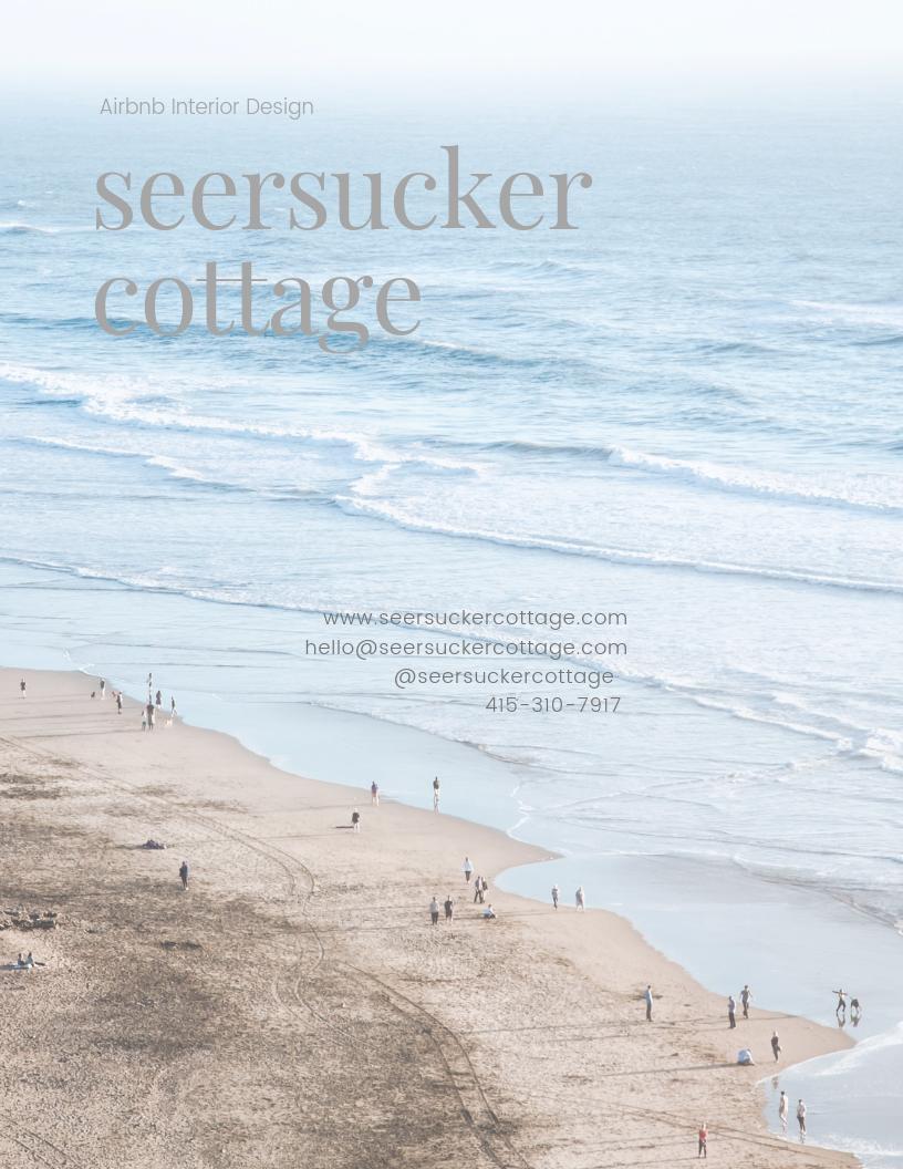 press Seersucker Cottage