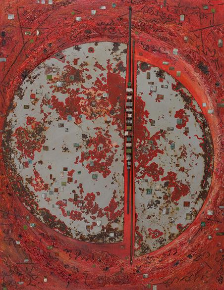 Raumzeit  104 x 130 cm