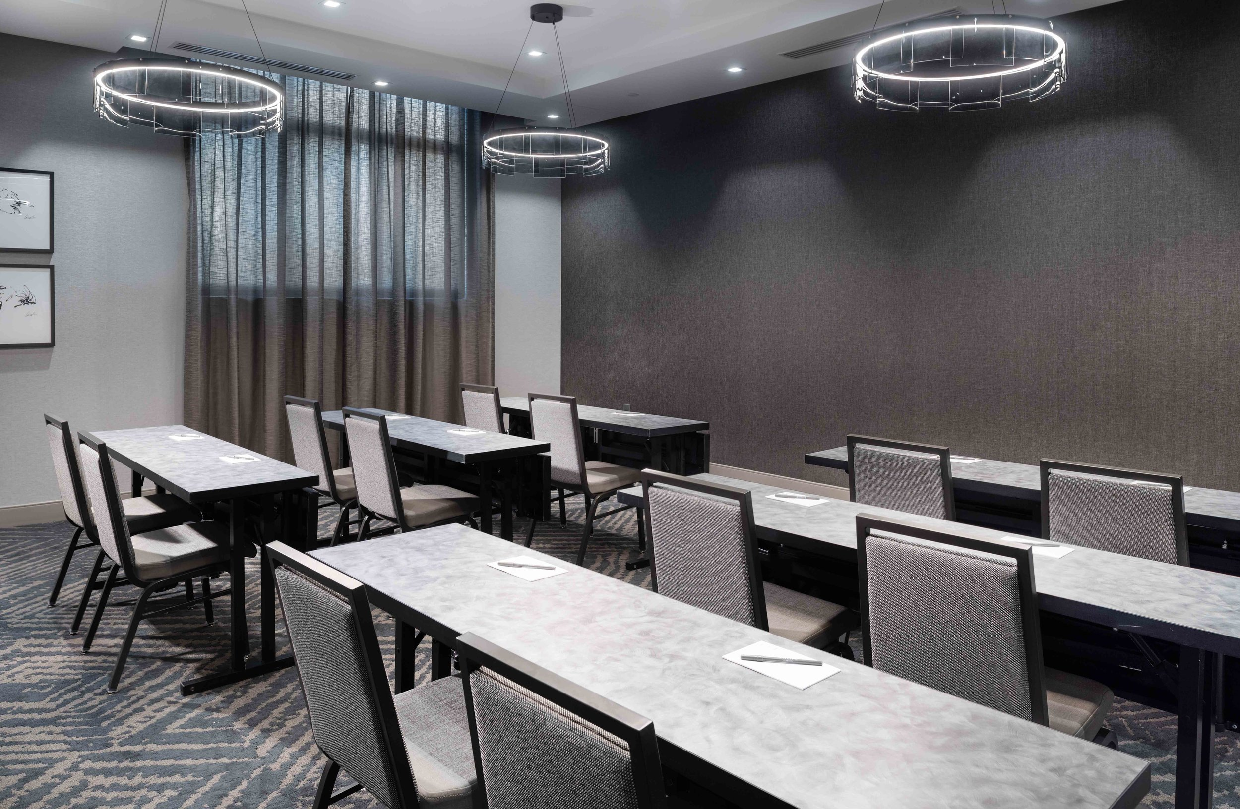 Offering 958 Sq. Ft. of Meeting Space - Our dual brand Quincy Hotel offers two upscale flexible function rooms .