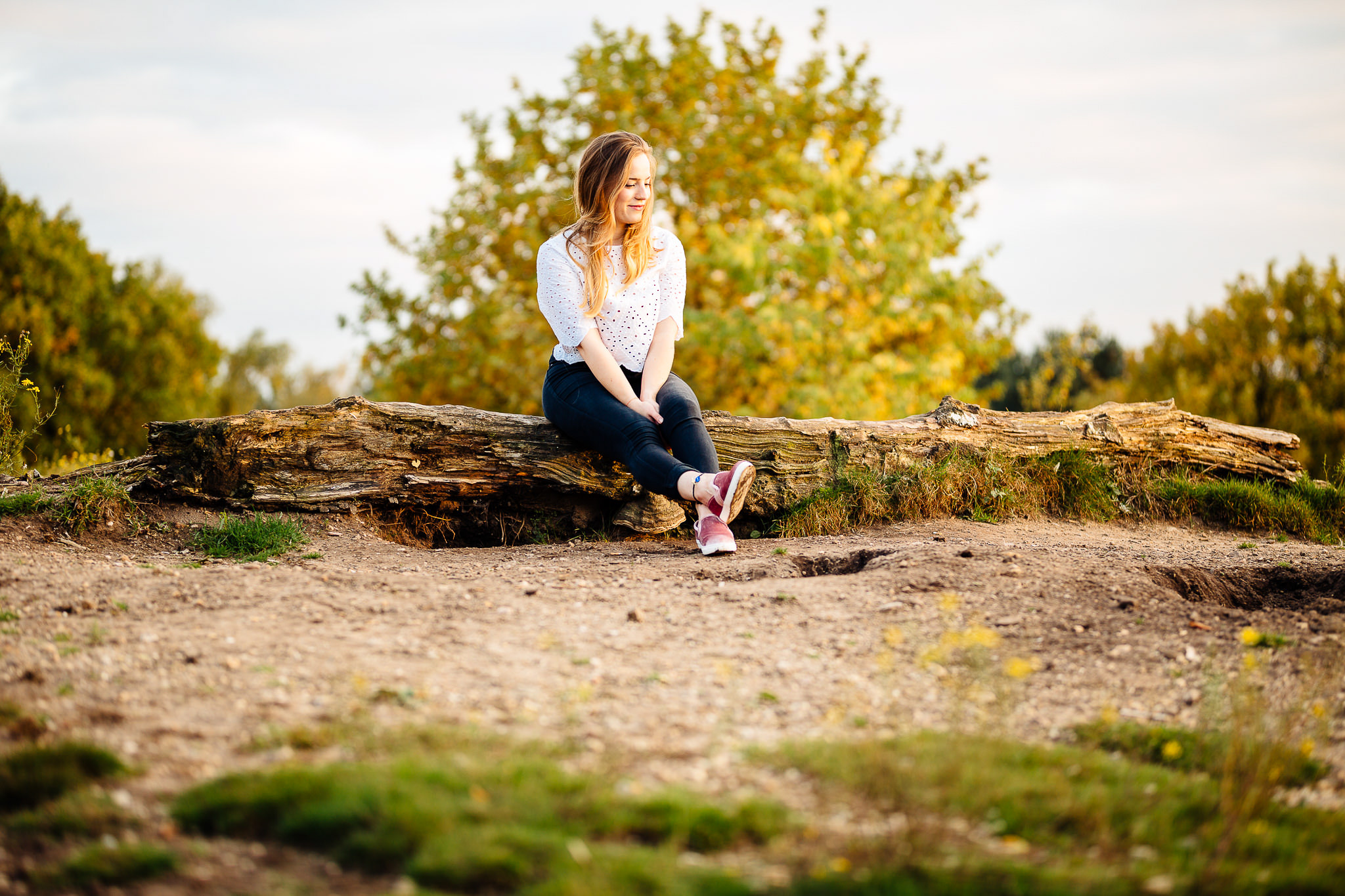 Portraitshooting in der Hildener Heide -
