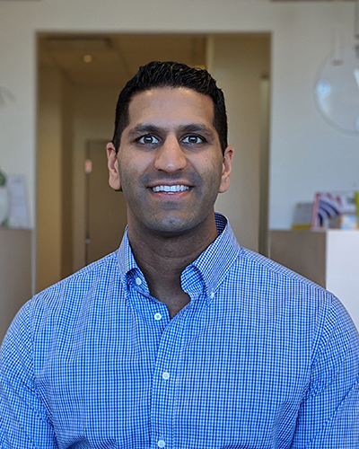 Dr. Vik Sharma - Dr. Sharma returned to his hometown to help serve the community that raised him. He looks forward to forming new relationships and continuing his lifelong journey in search of the latest dental technology and techniques