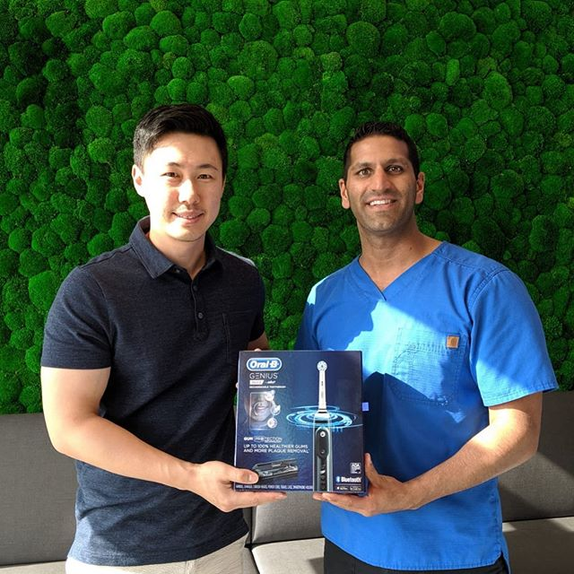 The winner of the @oralb electric toothbrush from Hats Off Day. Congratulations @joonius and we hope you enjoy your prize! . . #burnaby #burnabyheights #dental #dentalassistant #toothbrush #floss #dentalcleaning #dentallife #dentaloffice #dentalhygiene #northburnaby #tooth  #free #freebies #giveaways  #instagiveaway #instacontest #google #bestbuy #wholefoods #giftcards