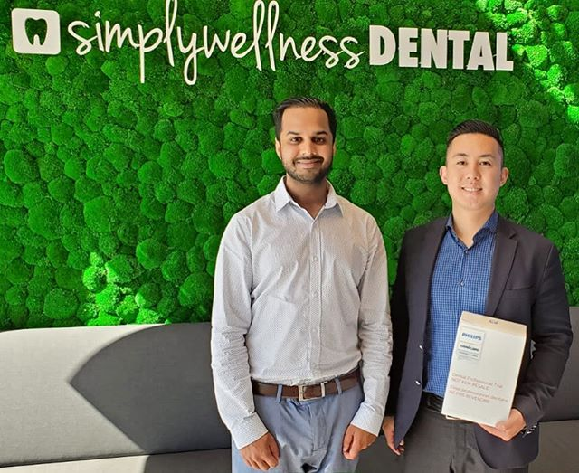 Thank you to @mjlc86 for stopping by! Enjoy your electric toothbrush! . . Did you know when you book an New Patient Exam and Cleaning with us, we gift you either a free electric toothbrush or a free teeth whitening! Message us for more details! . . #burnaby #burnabyheights #dental #dentalassistant #toothbrush #floss #dentalcleaning #dentallife #dentaloffice #dentalhygiene #northburnaby #tooth  #free #freebies #giveaways  #instagiveaway #instacontest #google #bestbuy #wholefoods #giftcards