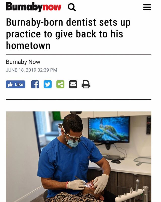 Thanks to @burnabynow for this amazing opportunity for @dr.viksharma to be featured in the Burnaby Now. He was born and raised in Burnaby and now, giving back to his community. Click the link in the bio to read the full article! . . #burnaby #burnabyheights #dental #dentalassistant #toothbrush #floss #dentalcleaning #dentallife #dentaloffice #dentalhygiene #northburnaby #tooth  #free #freebies #giveaways  #instagiveaway #instacontest #google #bestbuy #wholefoods #giftcards