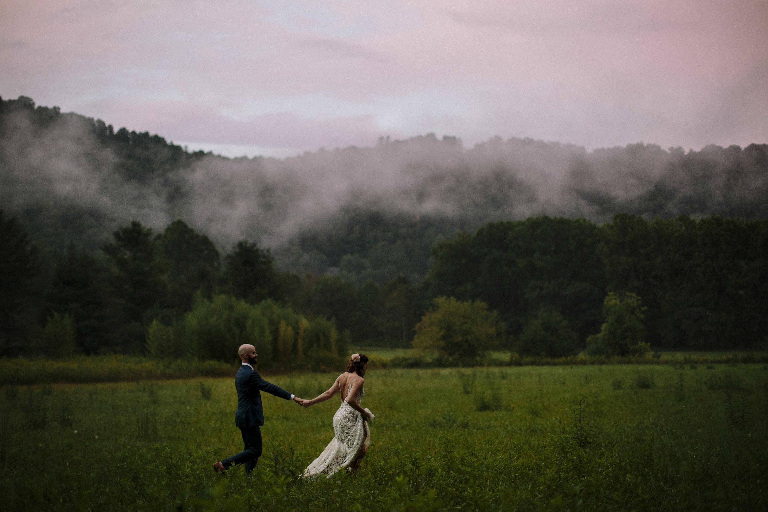 Wedding at Mast Farm Inn Boone, North Carolina