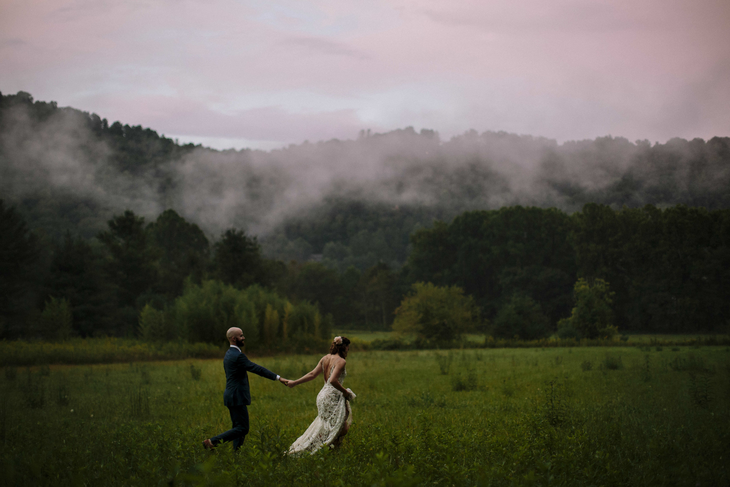 Wedding at Mast Inn Farm Boone, NC Photographer