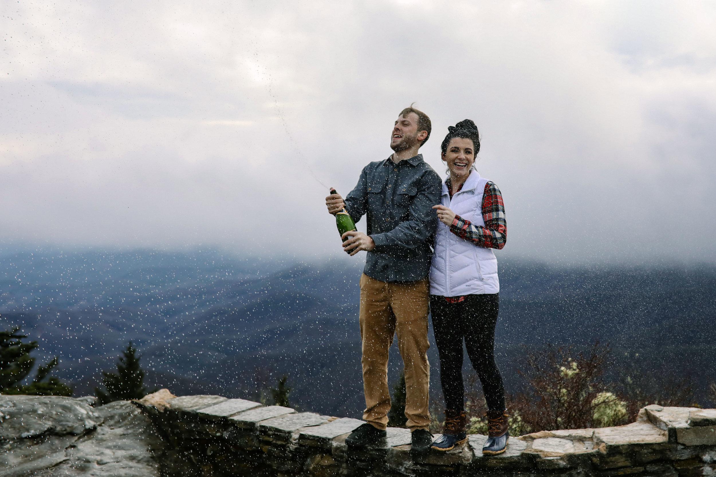 Blue Ridge Parkway Engagement Photographer | Asheville, NC