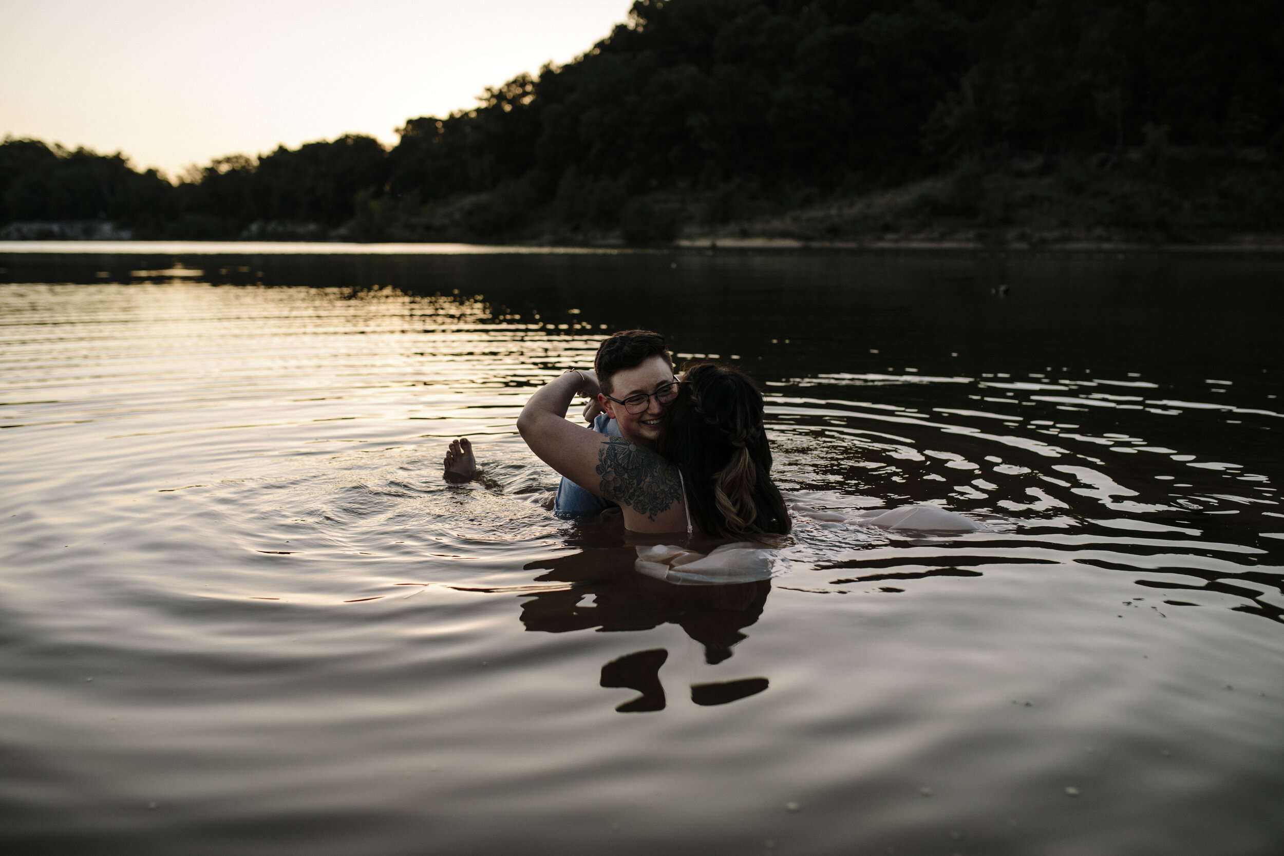 Johnson City, Tennessee Boone Lake Engagement Session