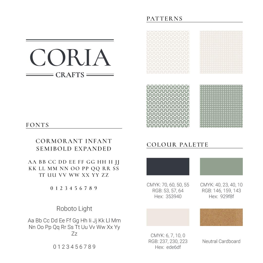 Coria Crafts Brand Identity