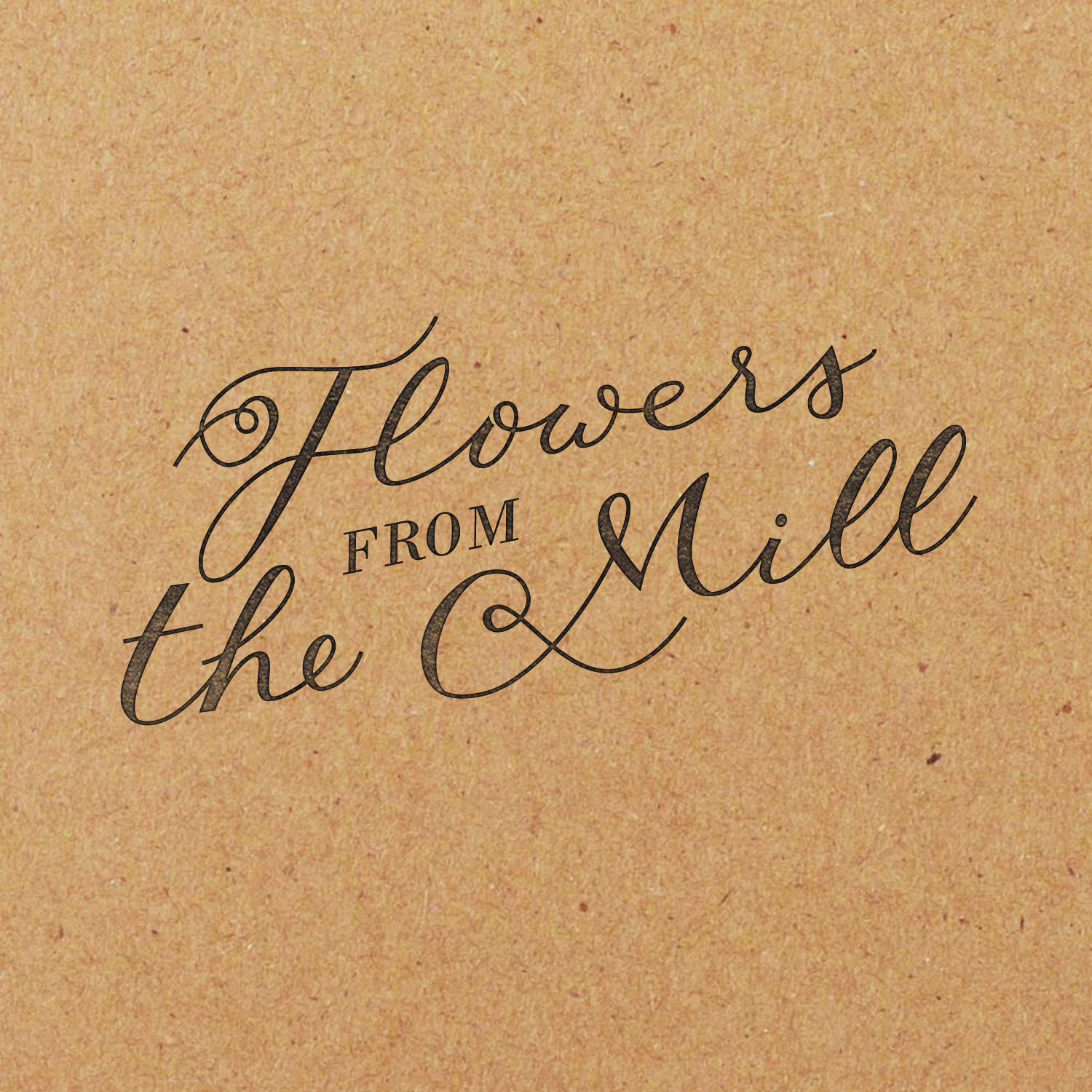 Flowers from the Mill Stamp