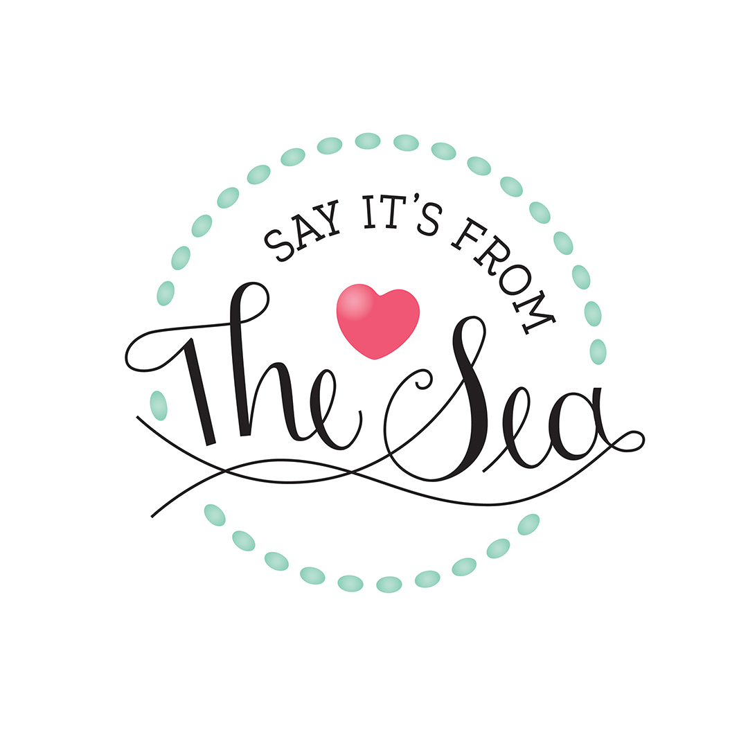 Say It's From the Sea Logo round