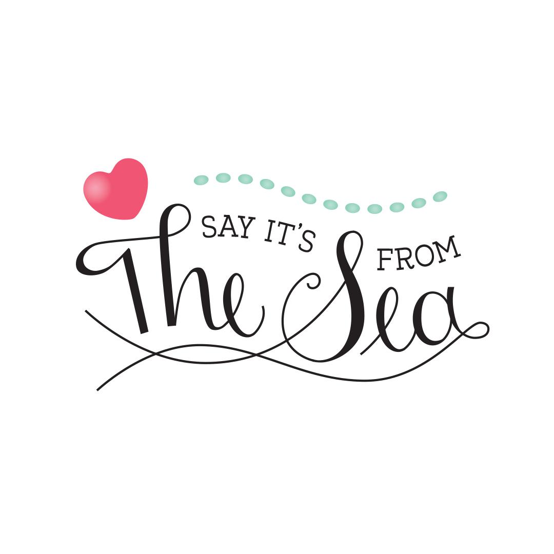 Say It's From the Sea Logo horizontal