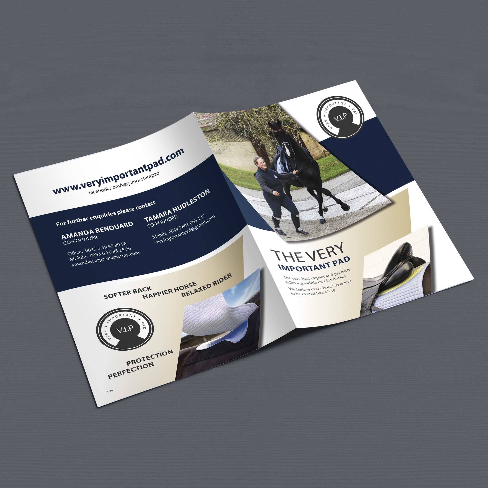 VIP Equestrian Brochure outer