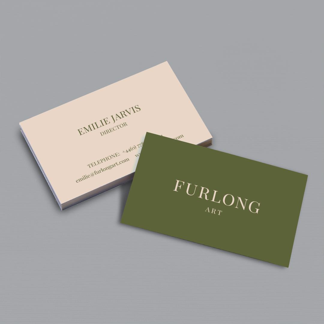 Furlong Art Business Cards