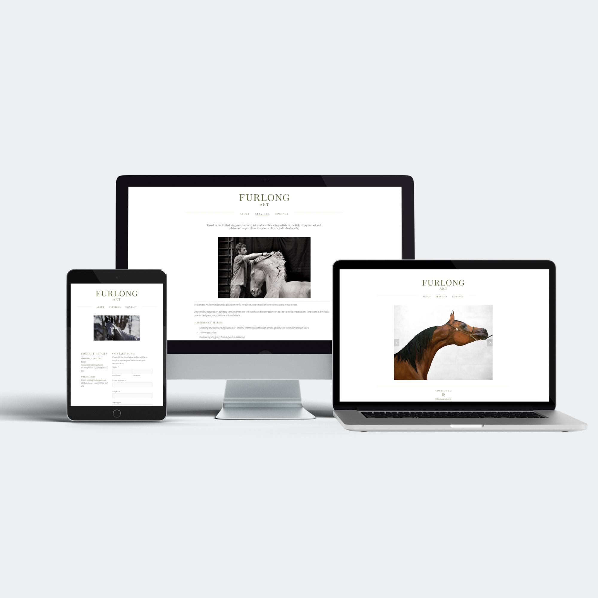 Furlong Art Website