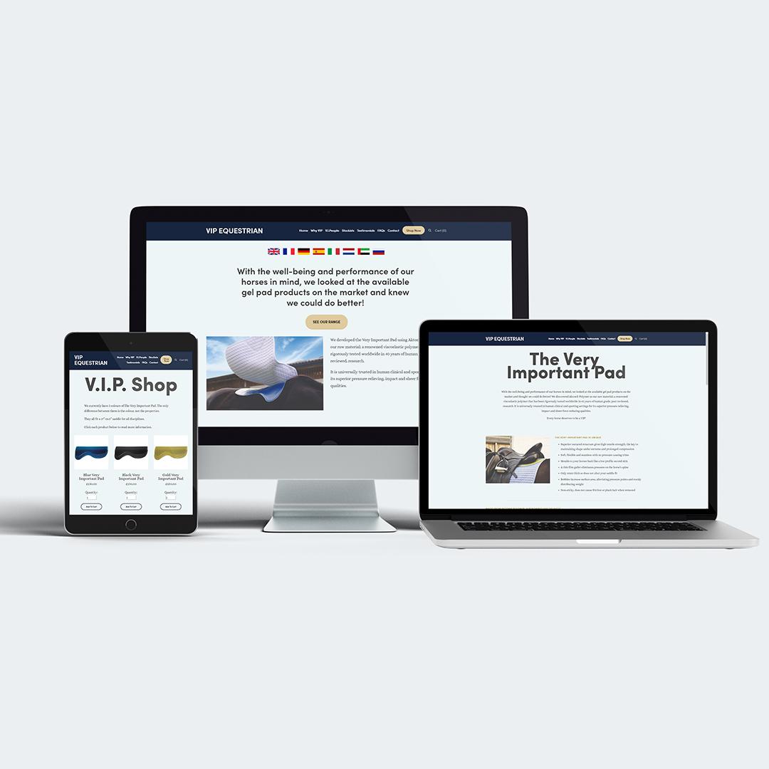 VIP Equestrian Website