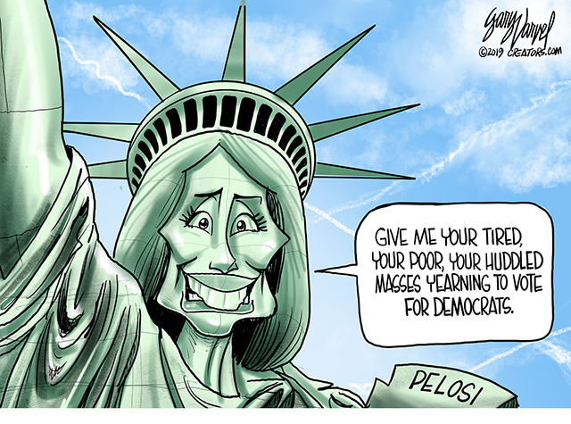 Statue of Pelosi
