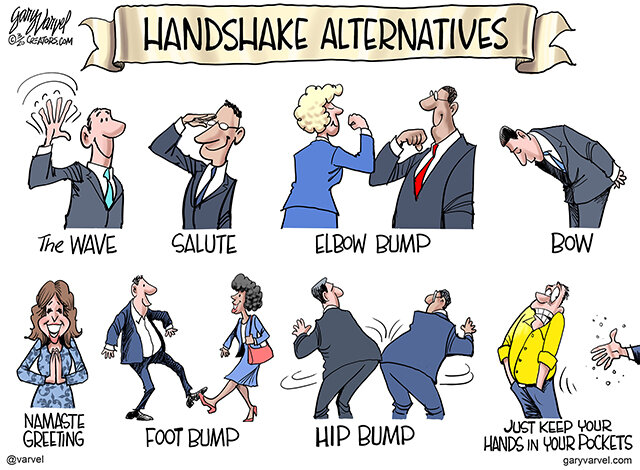 Gary Warvel Handshake Alternatives
