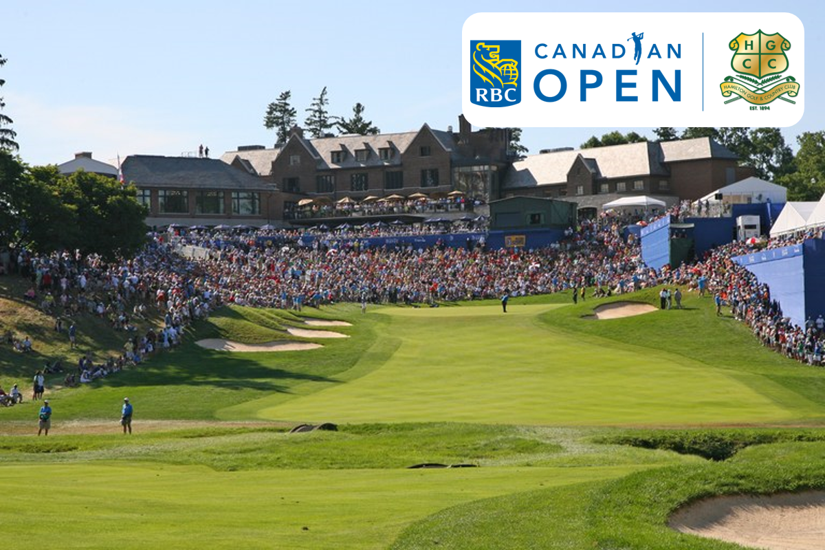 RBC Canadian Open returns to the Hamilton Golf & Country Club